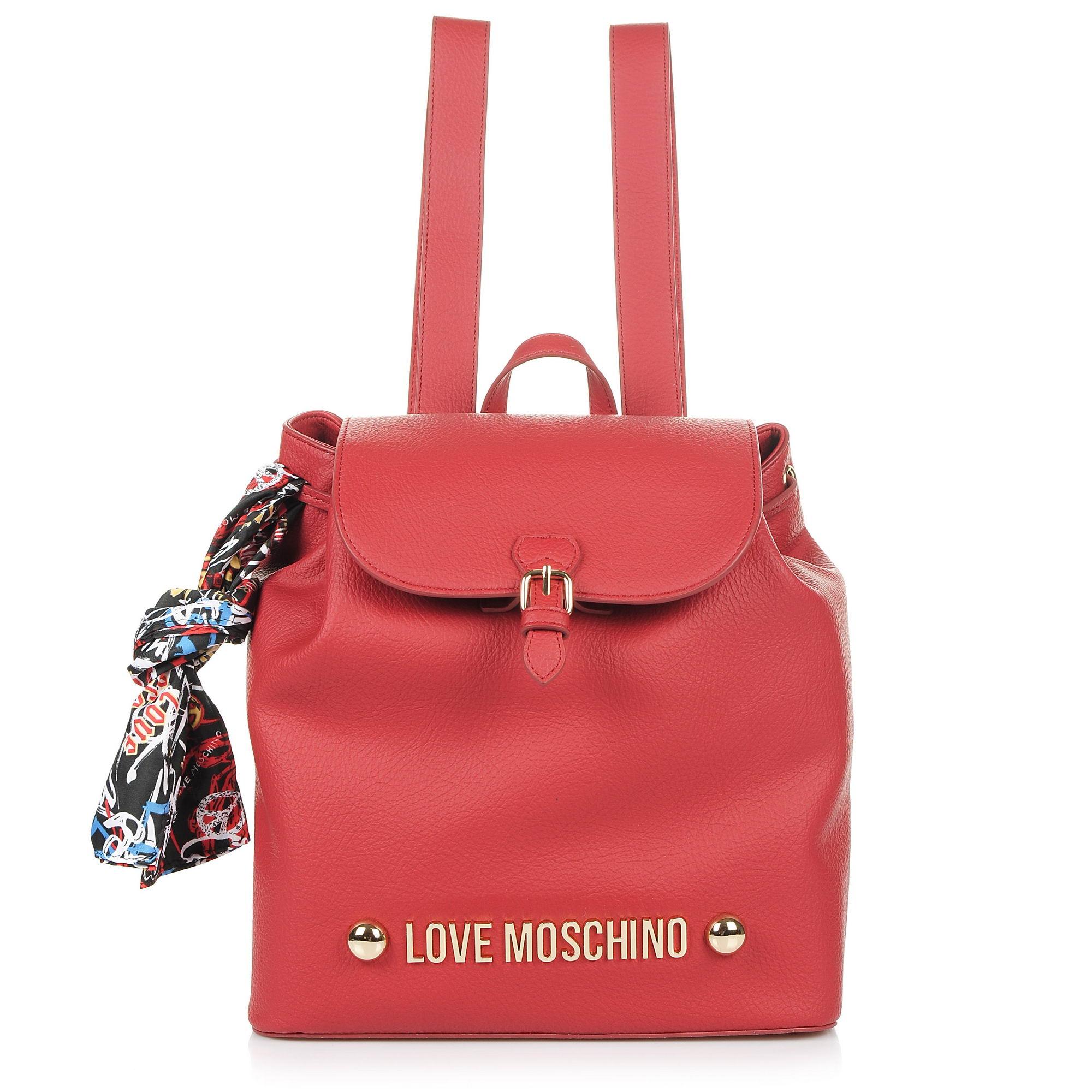 Σακίδιο Πλάτης Love Moschino Borsa Bonded Pu JC4123PP16LV