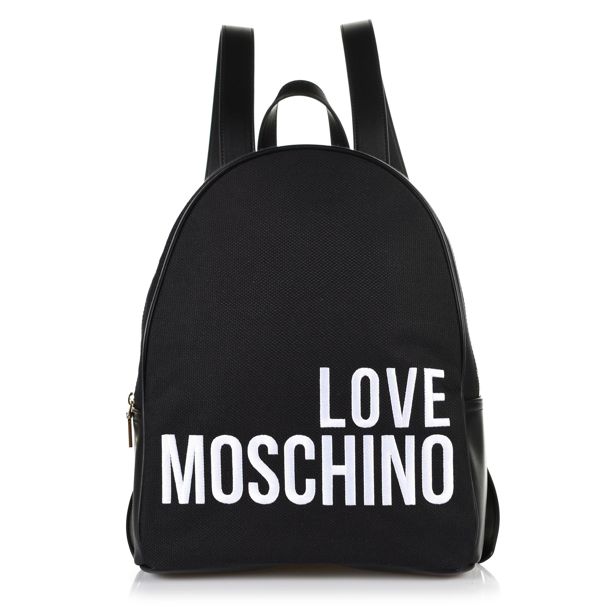 Σακίδιο Πλάτης Love Moschino Borsa Canvas JC4114PP17LO