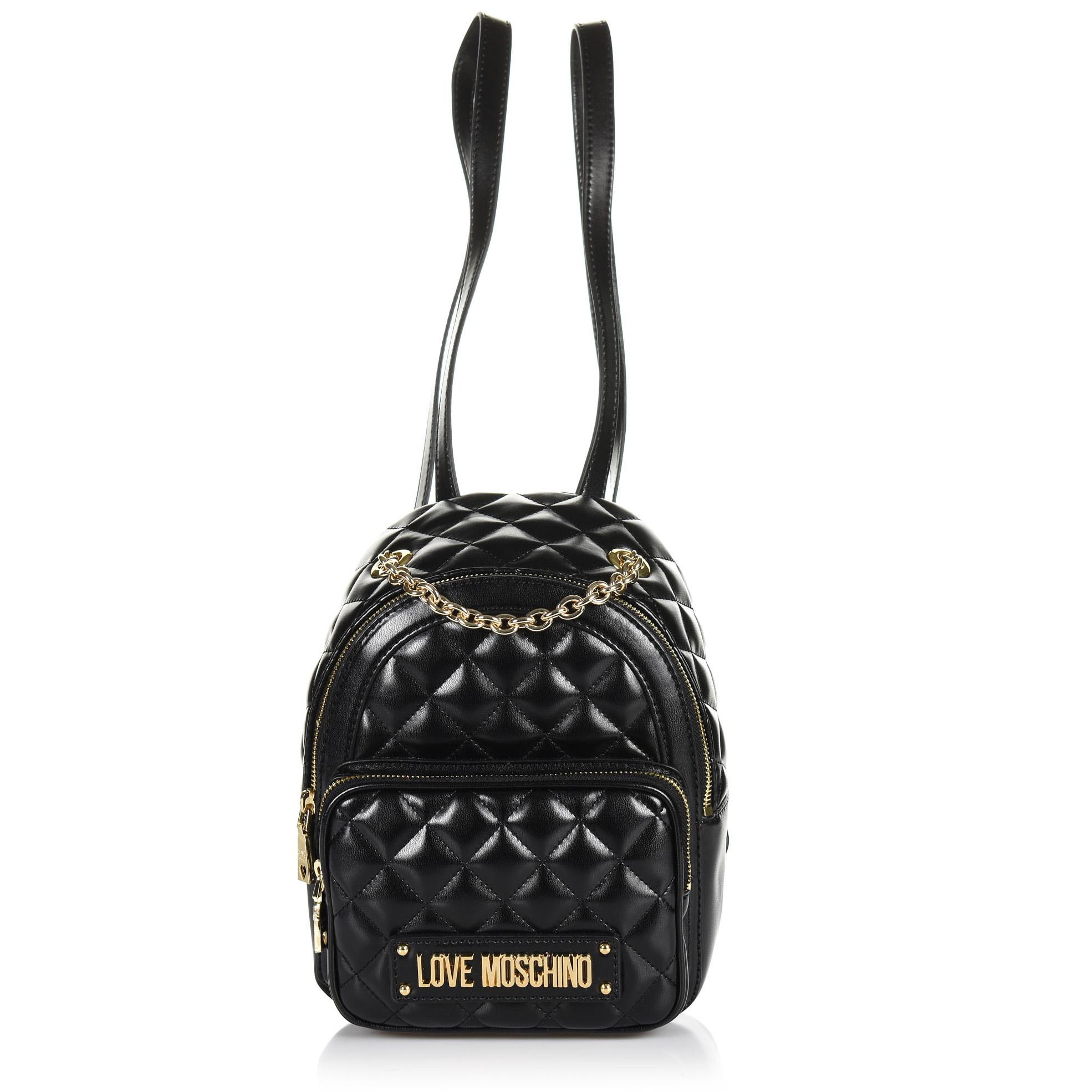 f32b499666 Brand Bags Σακίδιο Πλάτης Love Moschino Borsa Quilted Nappa JC4006PP17LA