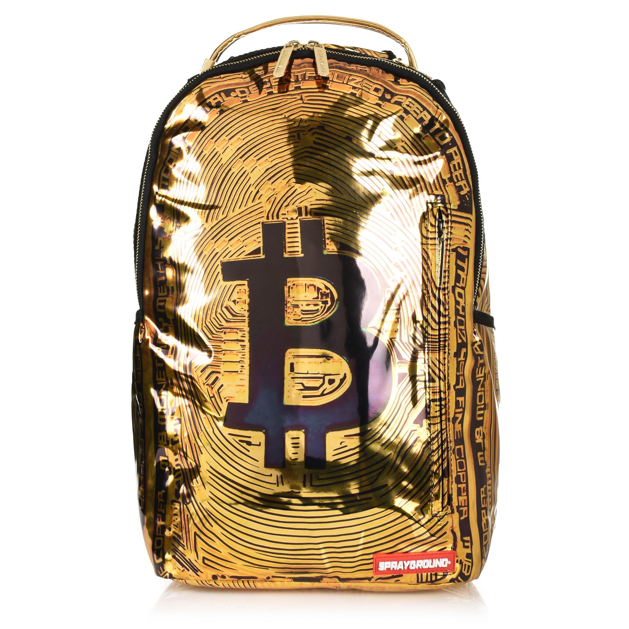 Σακίδιο Πλάτης Sprayground Limited Edition Bitcoin Bag 910B1943NSZ ανδρας   σακίδιο πλάτης