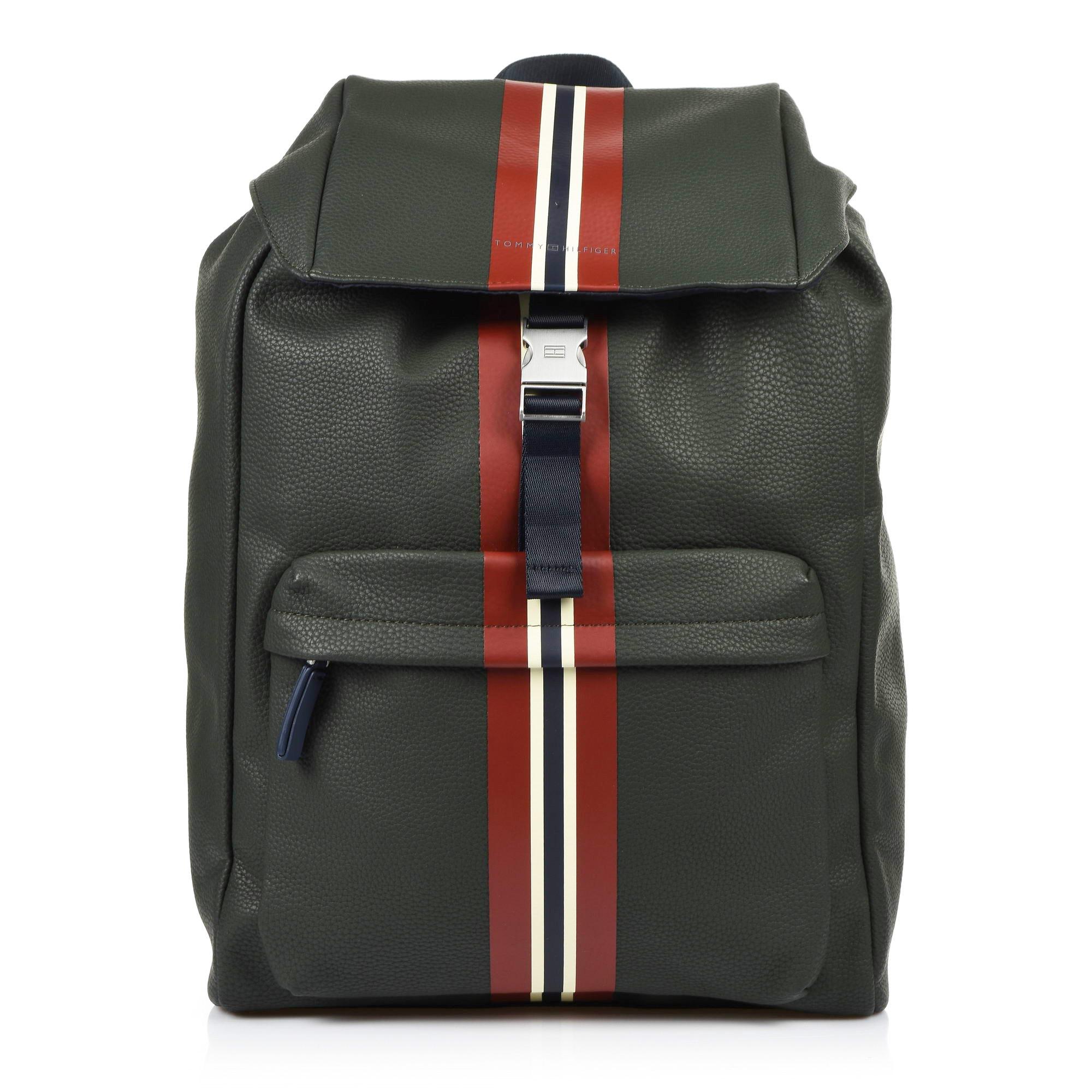 8e506633960 Σακίδιο Πλάτης Tommy Hilfiger Block Stripe Backpack AM0AM03955 ...