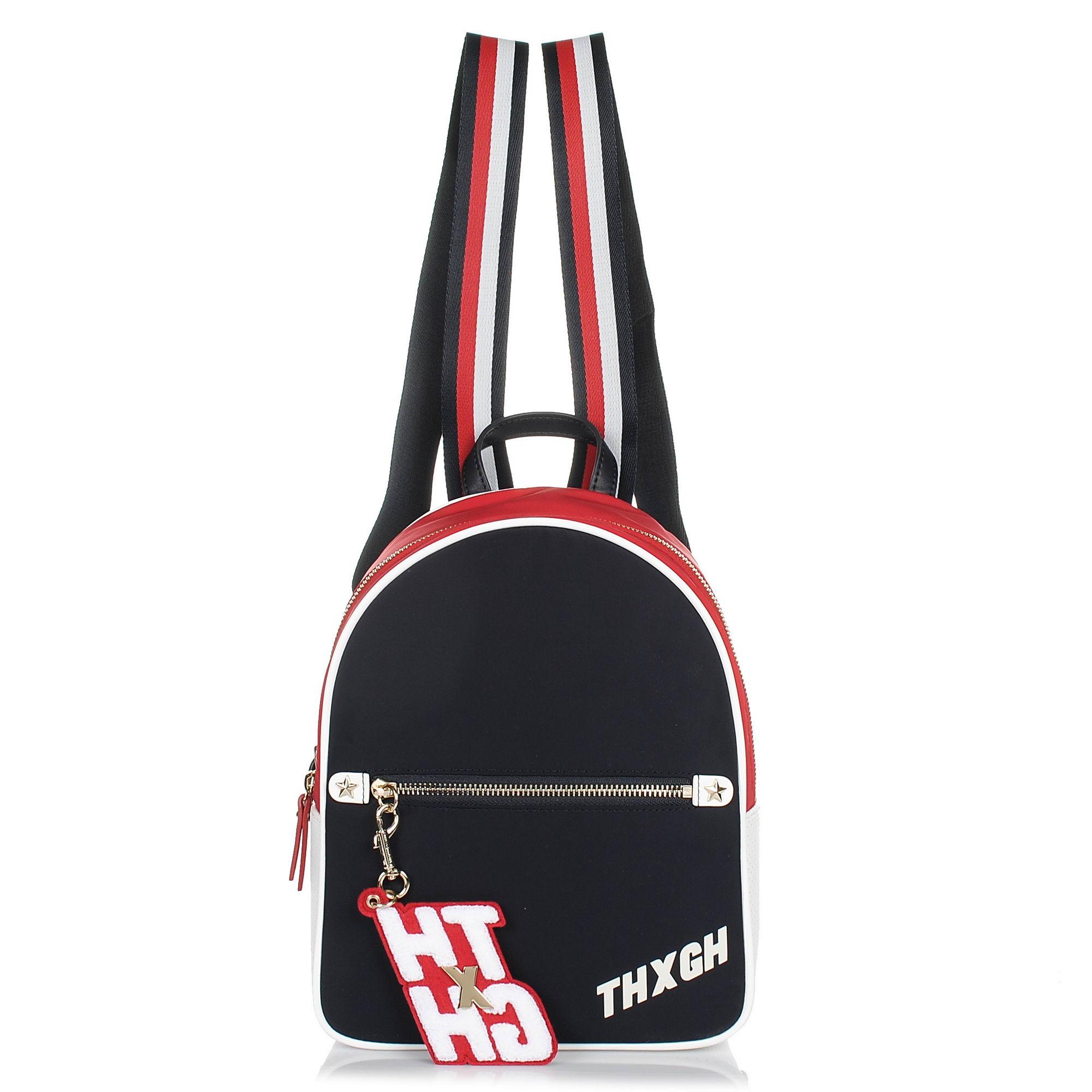 Σακίδιο Πλάτης Tommy Hilfiger Gigi Hadid Mini Backpack Nylon AW0AW05404 γυναικα   γυναικεία τσάντα