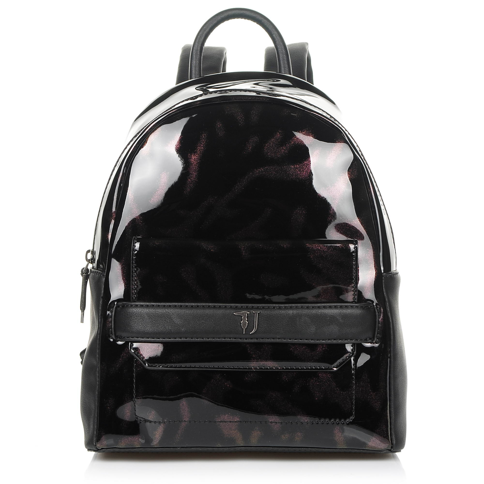 Σακίδιο Πλάτης Trussardi Jeans Paprica Backpack Patent Ecoleather 75B00557