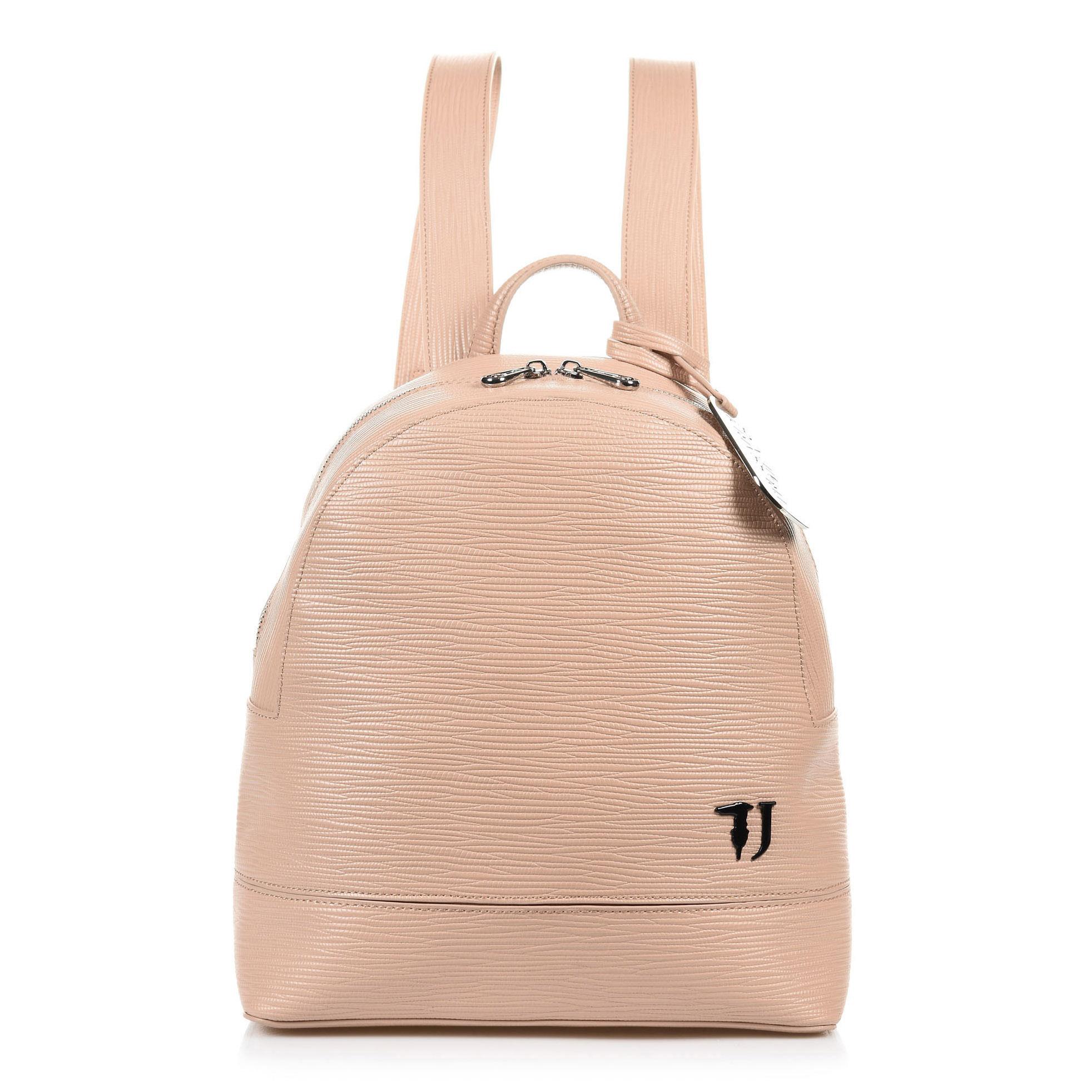 0eca6cdcb8 Σακίδιο Πλάτης Trussardi Jeans Τ-Easy City Backpack Md Saffiano Ecoleath  75B00665
