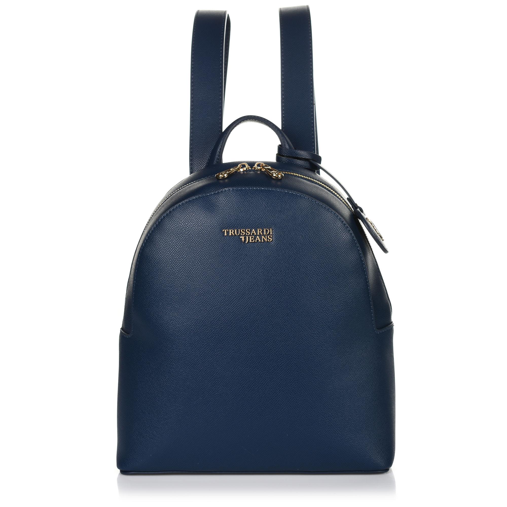 Σακίδιο Πλάτης Trussardi Jeans Τ-Easy Light Backpack Md Saffiano 75B00706