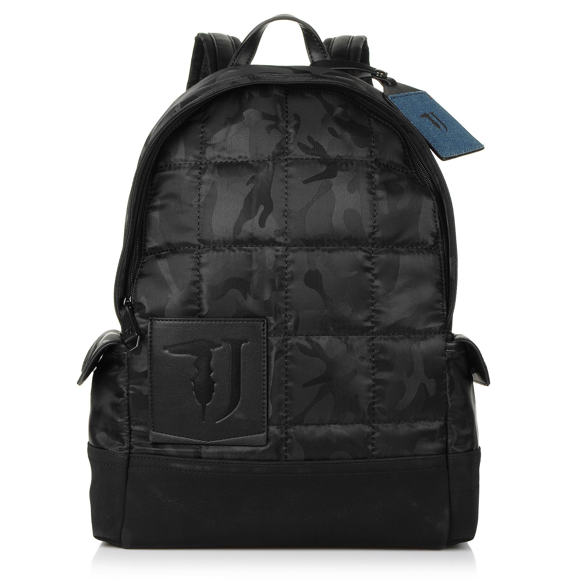571b18541b Σακίδιο Πλάτης Trussardi Jeans Ticinese Backpack Nylon Camouflage ...