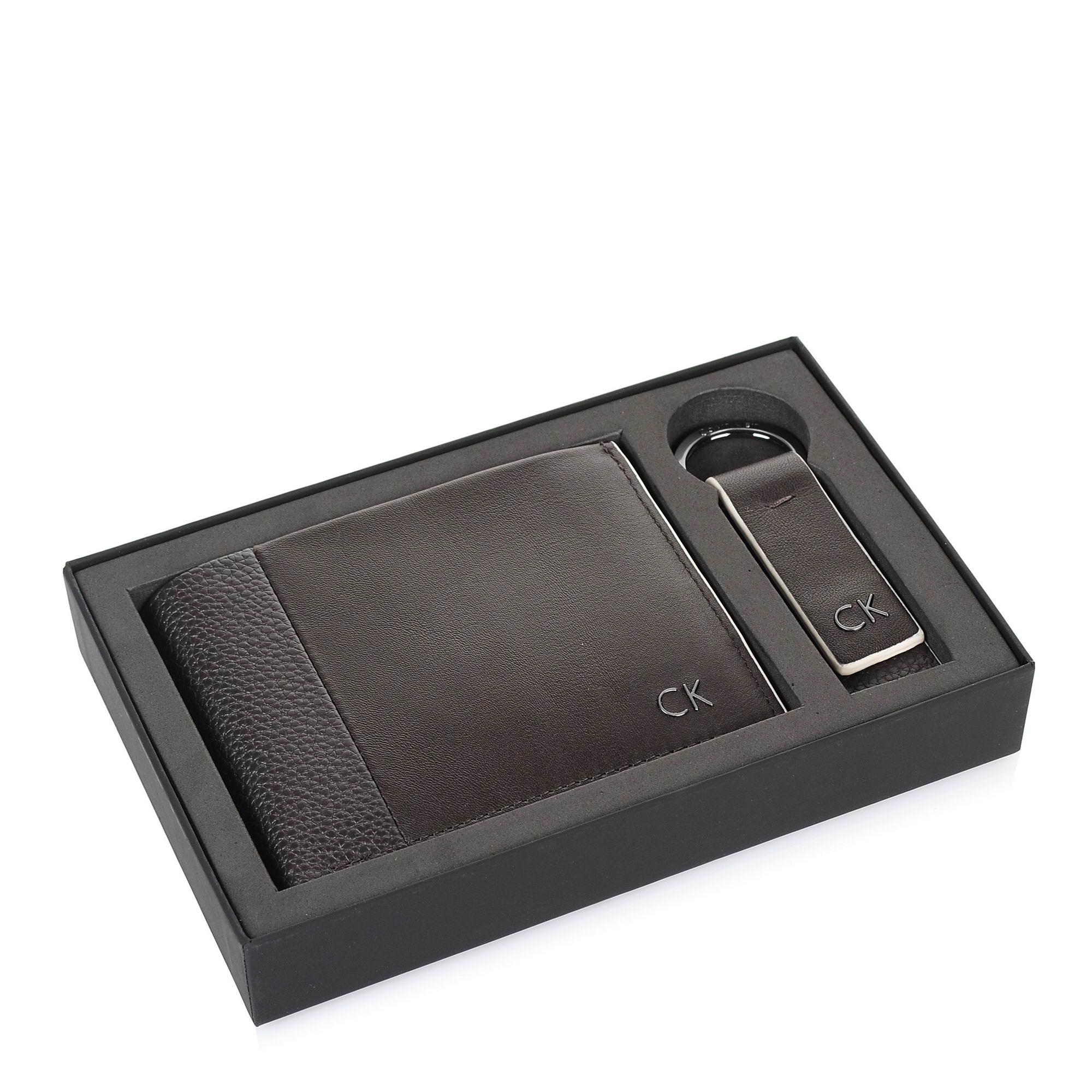 Σετ Δερμάτινο Πορτοφόλι - Μπρελόκ Calvin Klein New Nathan Giftbox K50K503708 ανδρας   ανδρικό πορτοφόλι