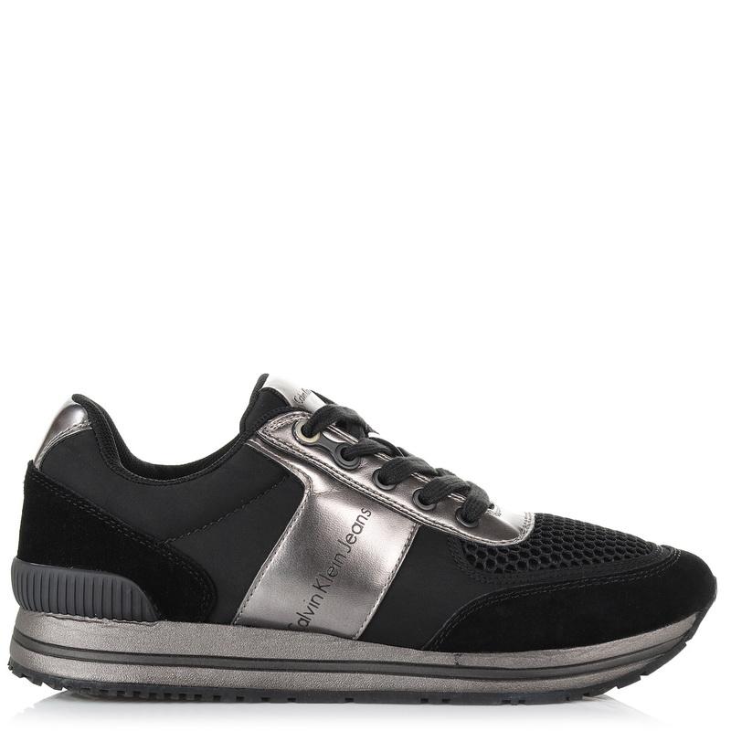 Sneakers Calvin Klein Estez Suede/Nylon/Metal Smooth S0496 ανδρας   ανδρικό παπούτσι