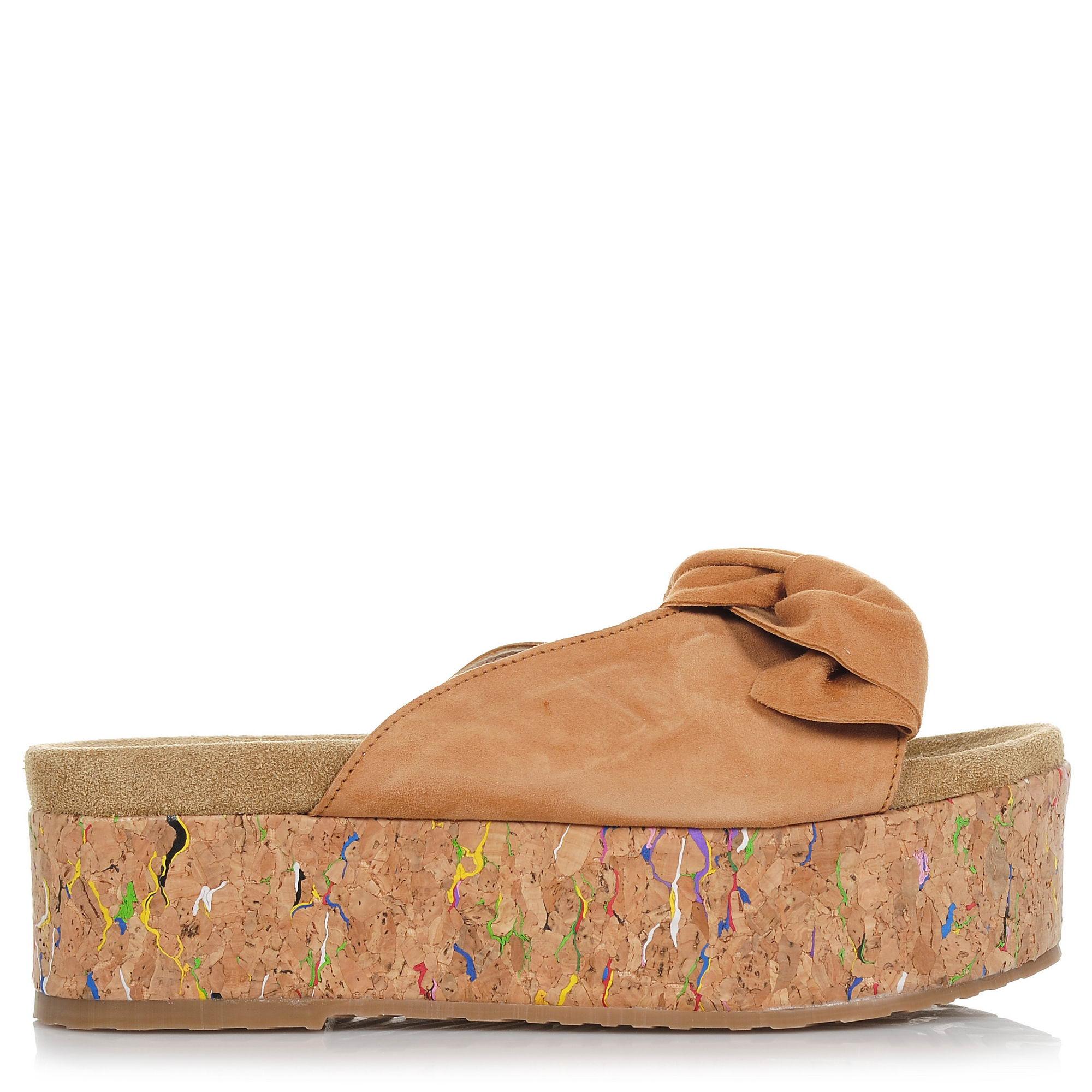 Suede Δερμάτινα Flatforms Nitro Fashion SX1022N γυναικα   γυναικείο παπούτσι