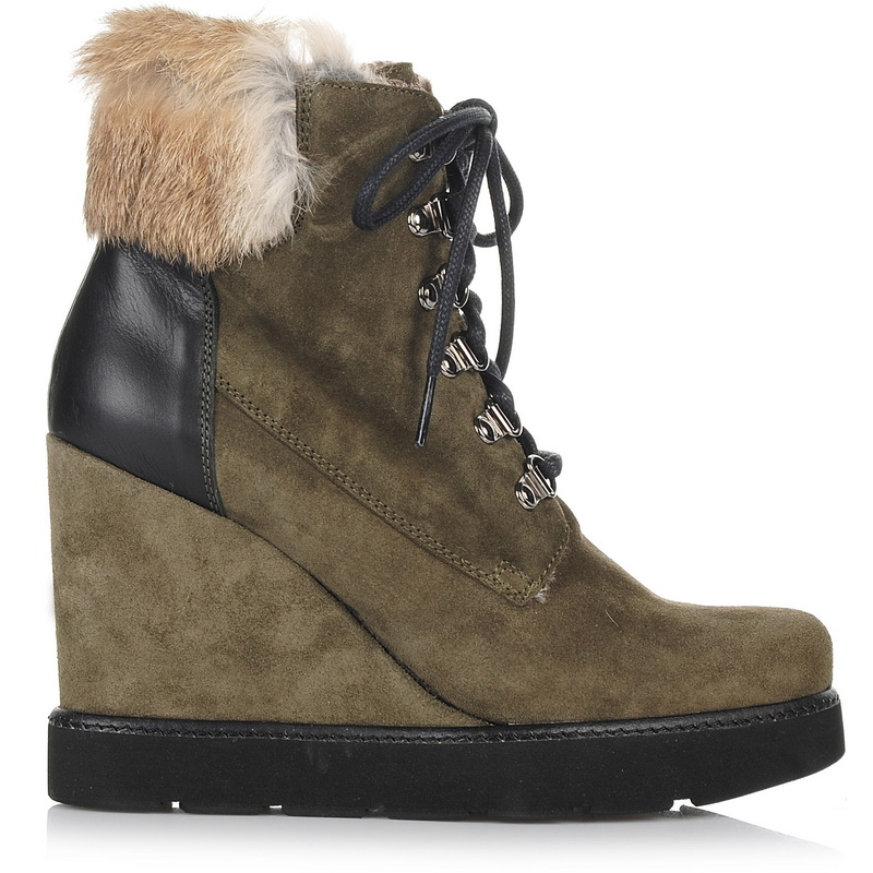 Suede Δερμάτινα Μποτάκια - Πλατφόρμες Kanna ΚI7851 γυναικα   γυναικείο παπούτσι