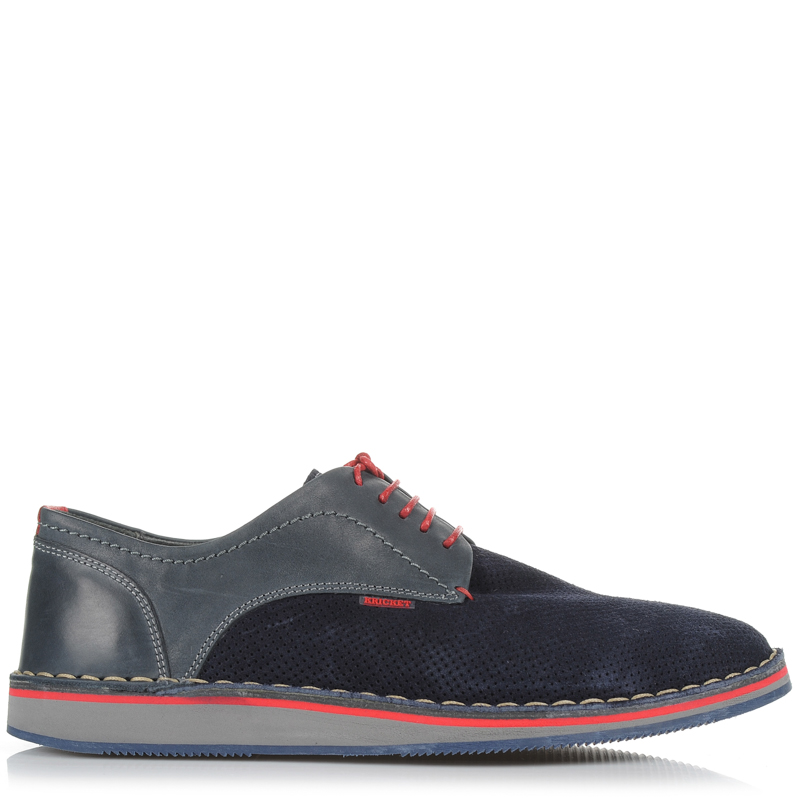 Suede Δερμάτινα Oxford Παπούτσια Kricket MAISON ανδρας   ανδρικό παπούτσι