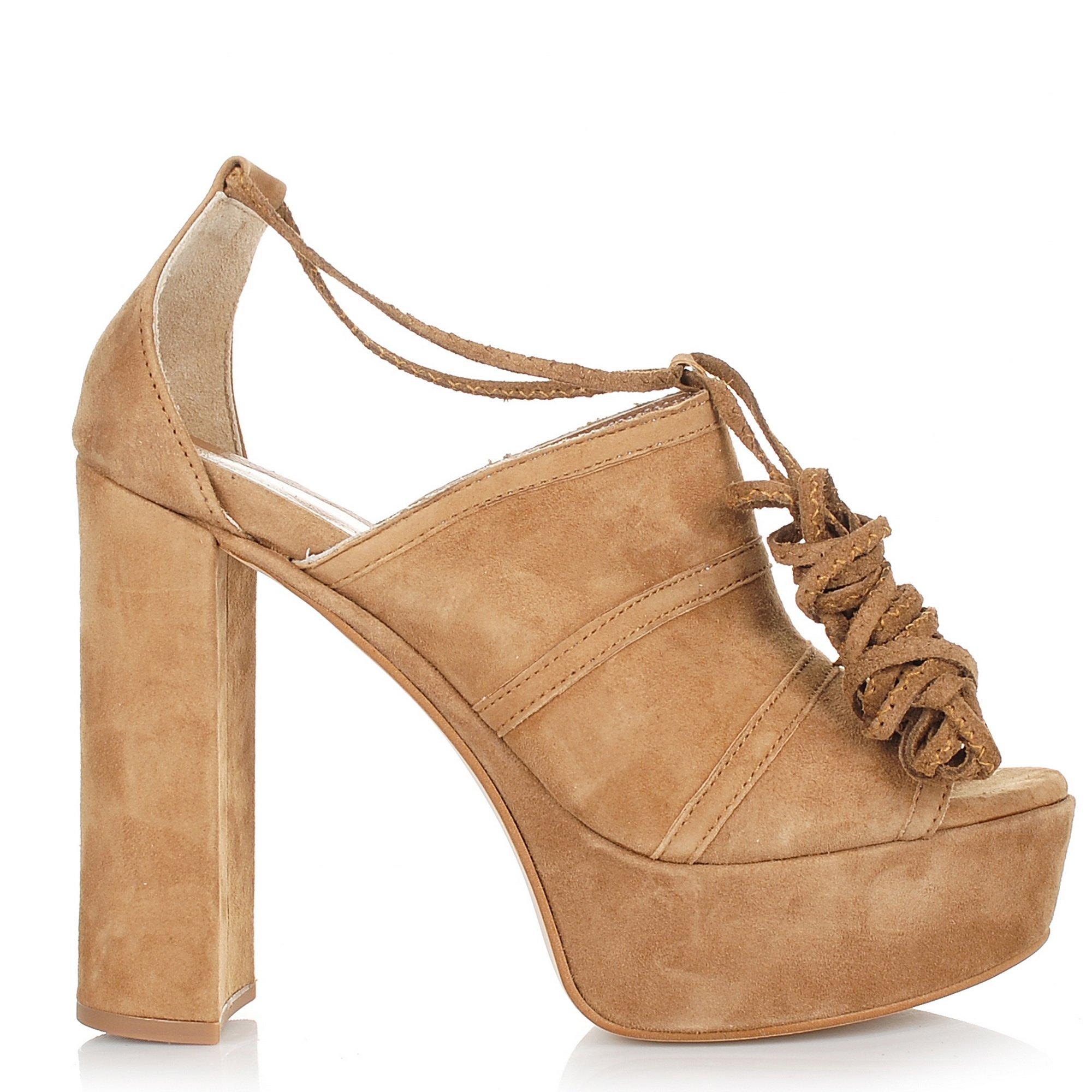 Suede Δερμάτινα Πέδιλα Nitro Fashion SX1086M γυναικα   γυναικείο παπούτσι