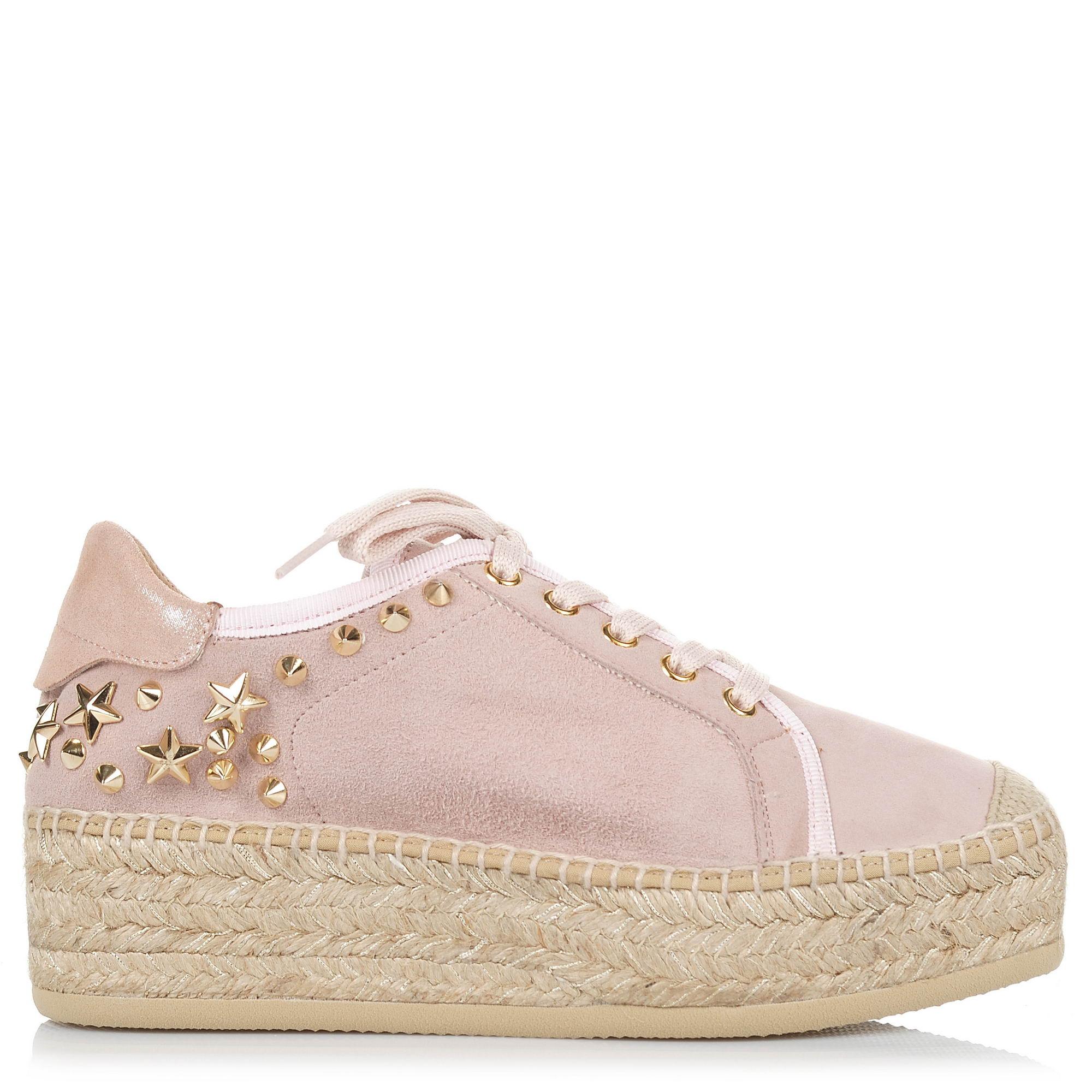 Suede Δερμάτινες Εσπαντρίγιες Kanna KV8211 γυναικα   γυναικείο παπούτσι
