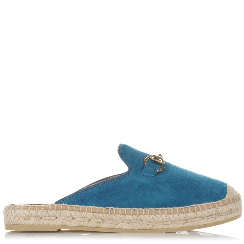 Suede Δερμάτινες Εσπαντρίγιες Mules Kanna KV7009 γυναικα   γυναικείο παπούτσι