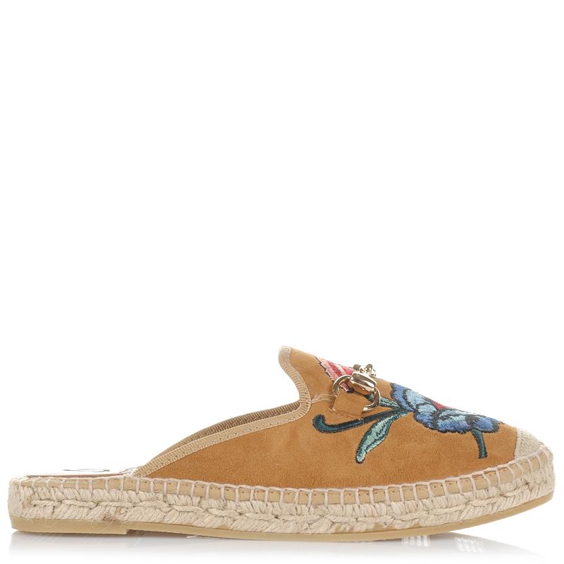 Suede Δερμάτινες Εσπαντρίγιες Mules Kanna KV7028 γυναικα   γυναικείο παπούτσι