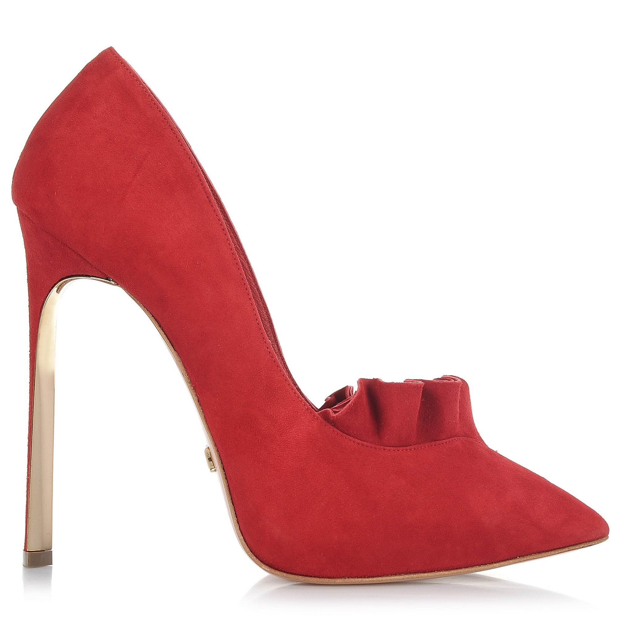 Suede Δερμάτινες Γόβες Dukas Twist Pump Vollant 2.DTV γυναικα   γυναικείο παπούτσι