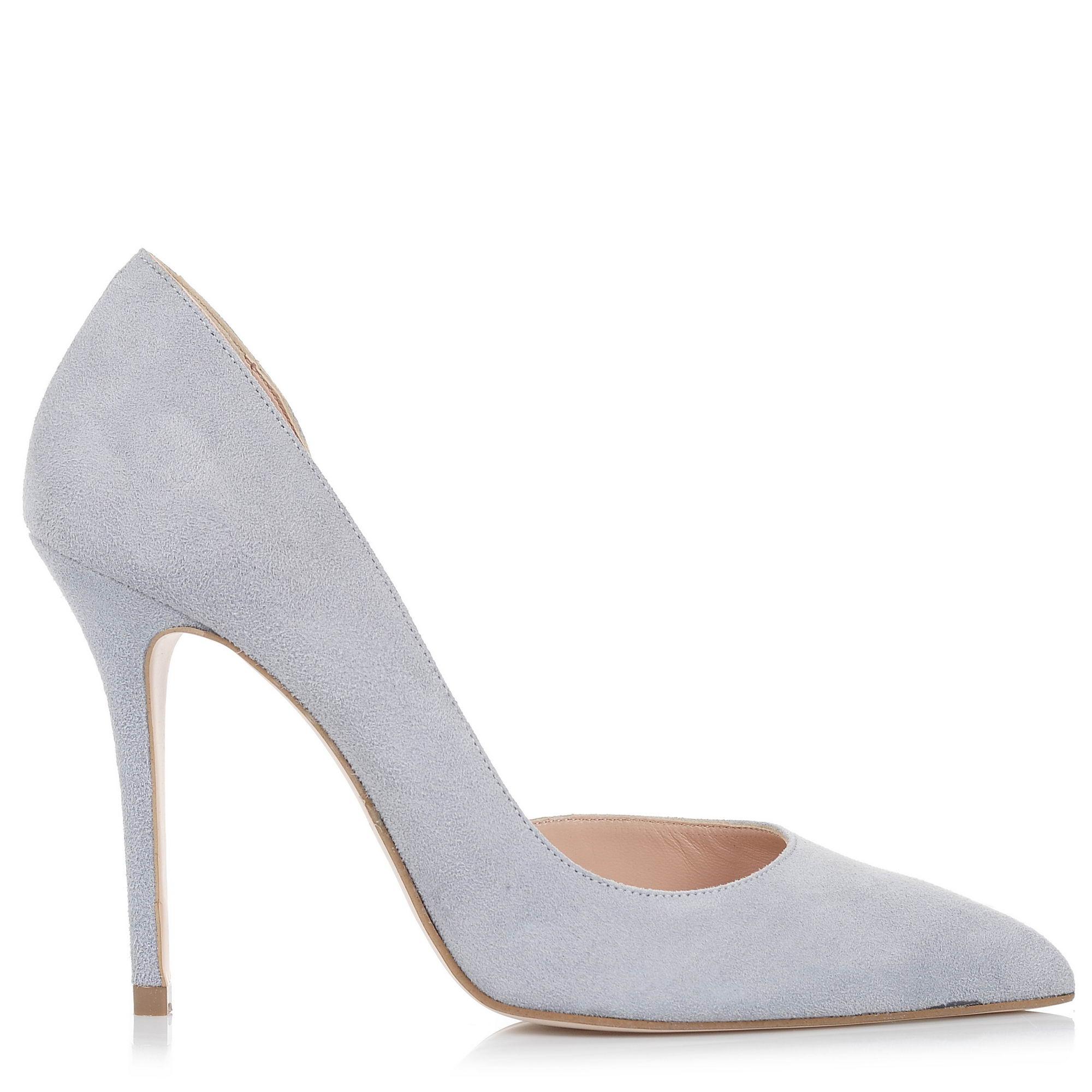 Suede Δερμάτινες Γόβες Mourtzi 10/100472 γυναικα   γυναικείο παπούτσι