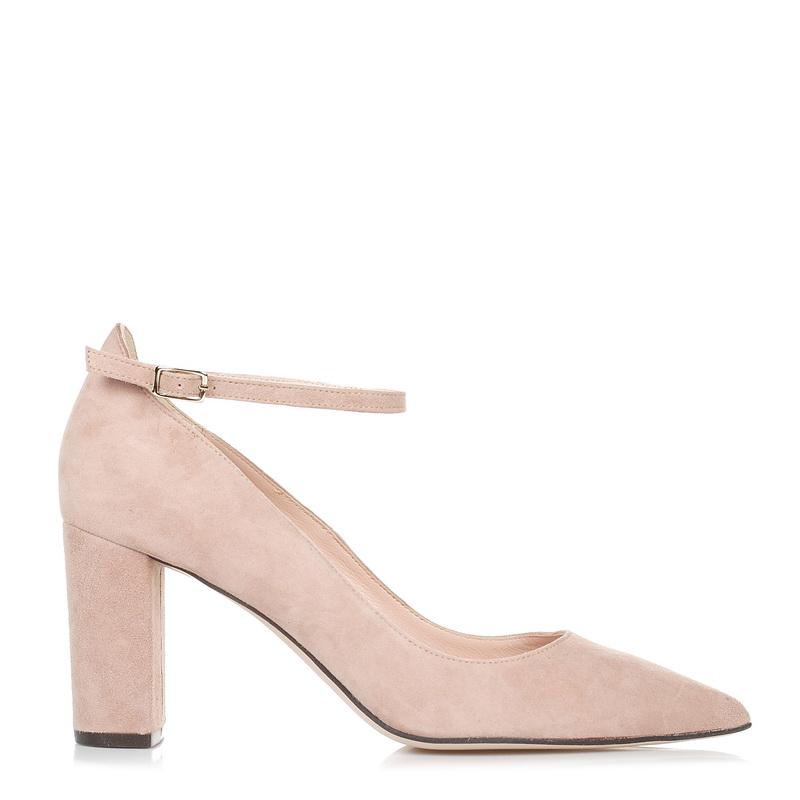 Suede Δερμάτινες Γόβες Mourtzi 711K01 γυναικα   γυναικείο παπούτσι