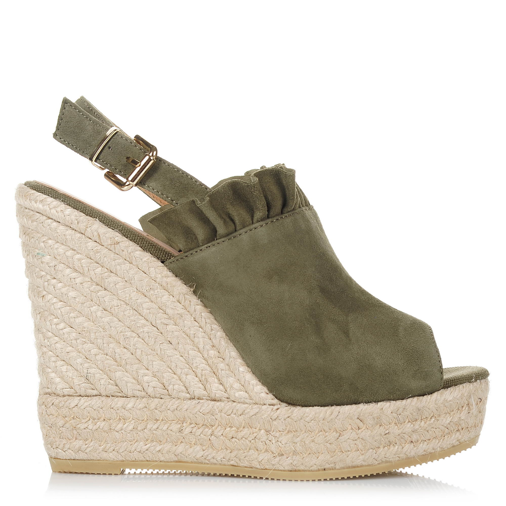 Suede Δερμάτινες Πλατφόρμες Kanna KV8142 γυναικα   γυναικείο παπούτσι