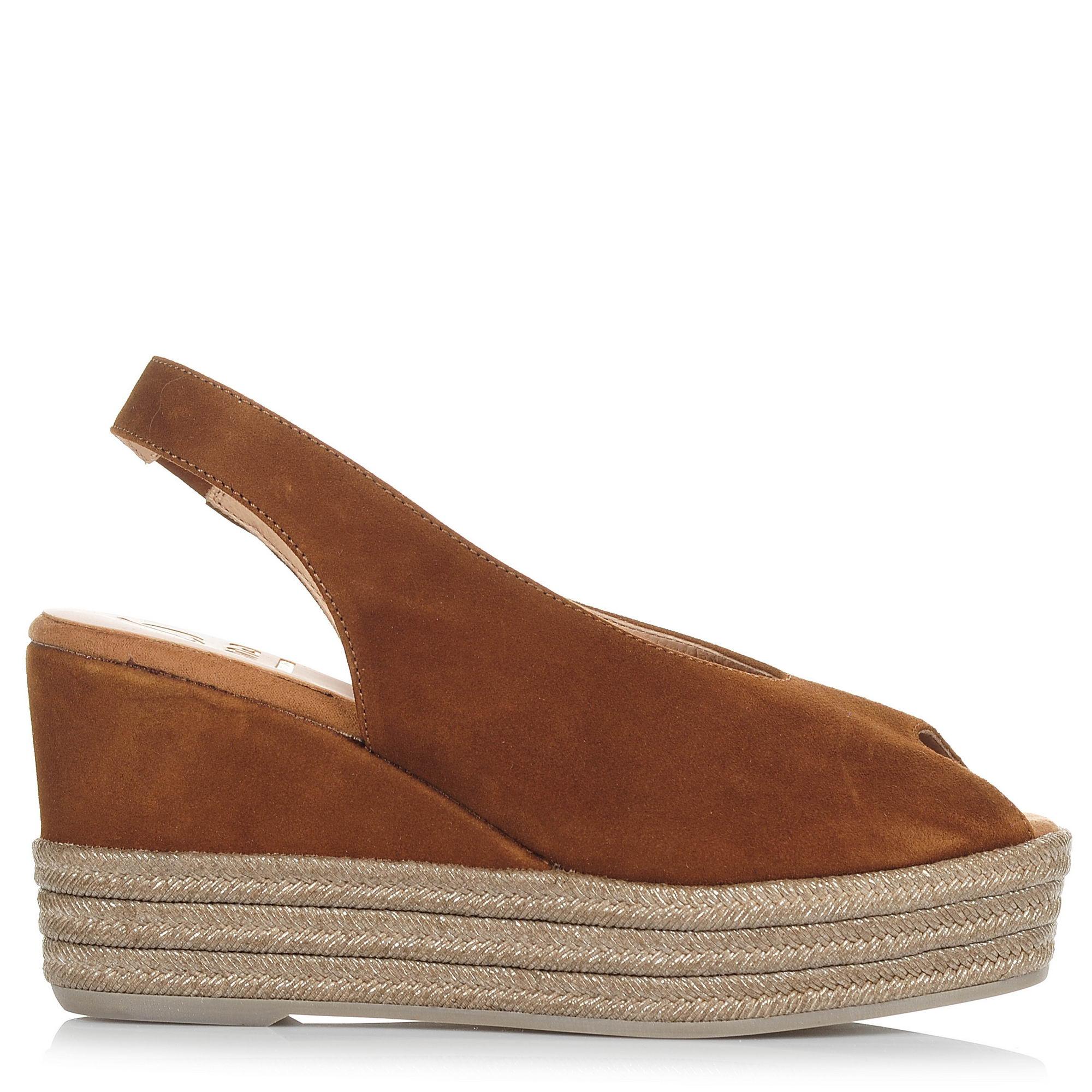 Suede Δερμάτινες Πλατφόρμες Kanna KV8280 γυναικα   γυναικείο παπούτσι