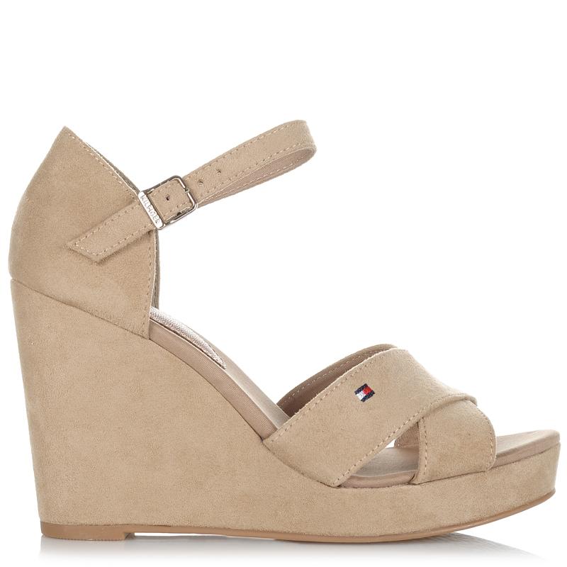 Suede Δερμάτινες Πλατφόρμες Tommy Hilfiger Elena 45D γυναικα   γυναικείο παπούτσι