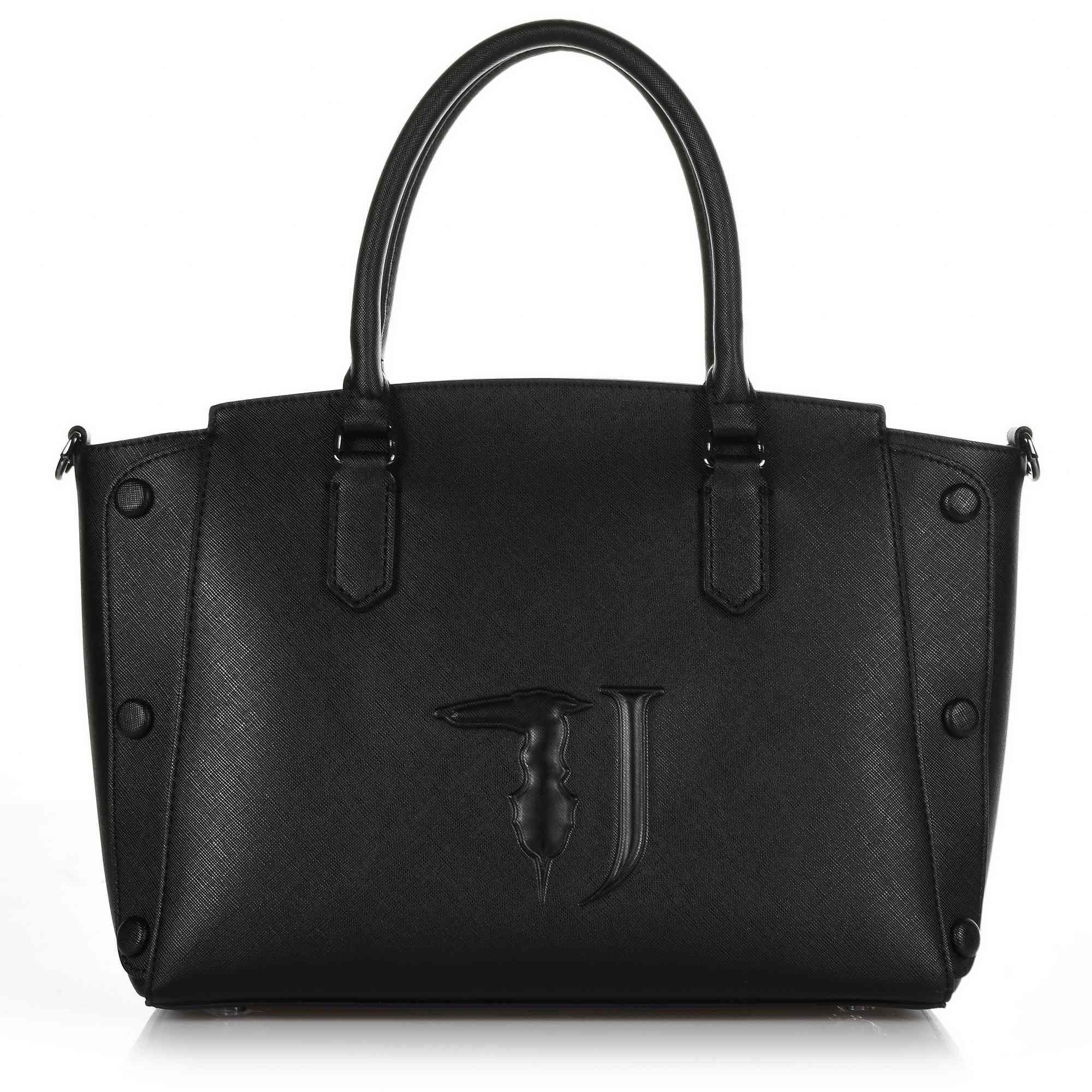 Tote Τσάντα Ώμου-Χιαστί Trussardi Jeans Melissa Tote Medium Bag Ecoleather Covered Studs 75B00454