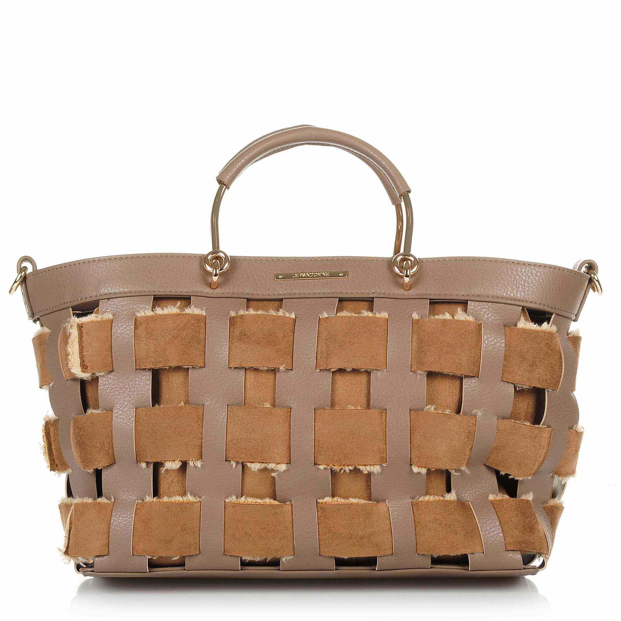 a5843d7efb Tote Τσάντα Ώμου Le Pandorine Basket Mini AI18DAI02228