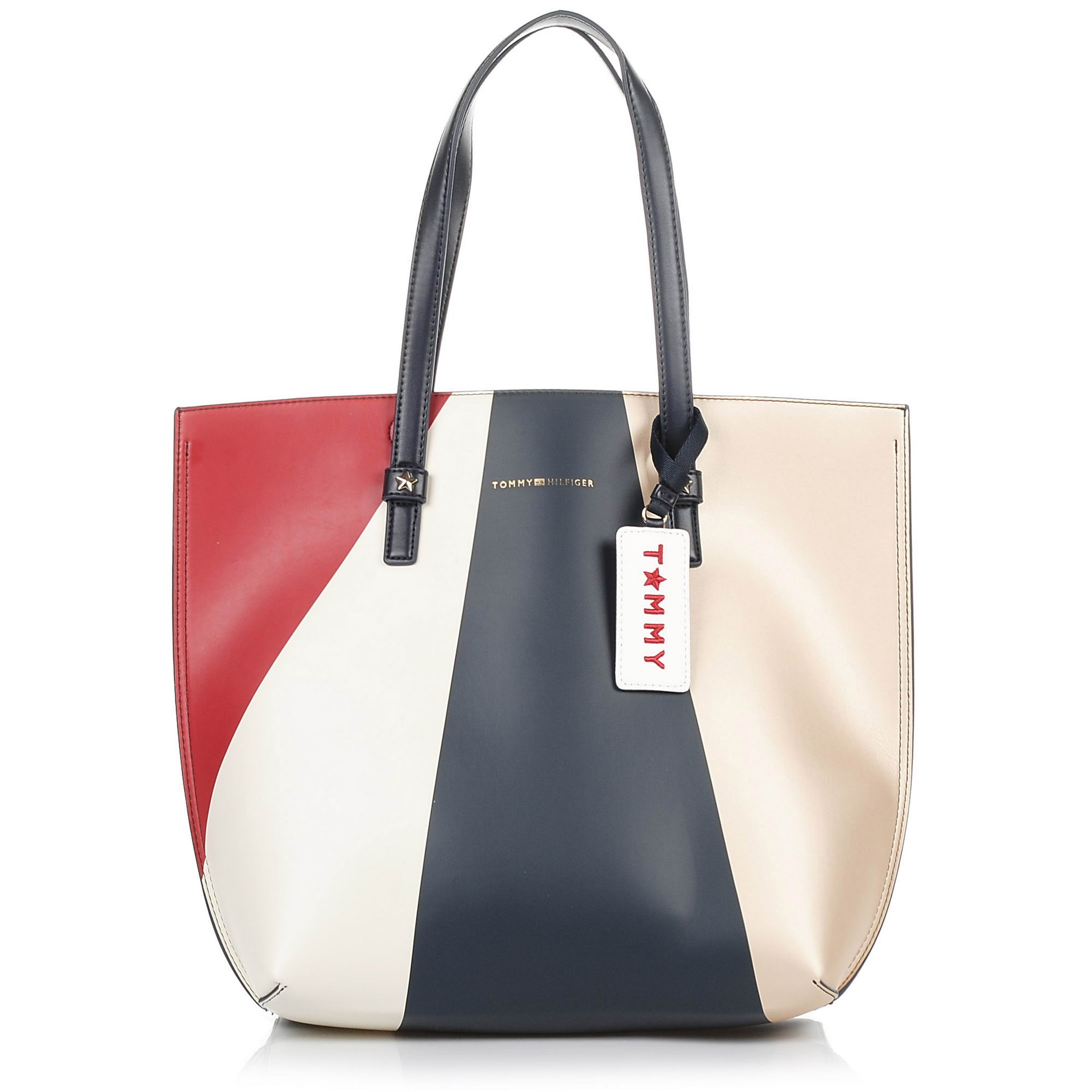 Tote Τσάντα Tommy Hilfiger Effortless Tote Large Gbo Metallic AW0AW05055