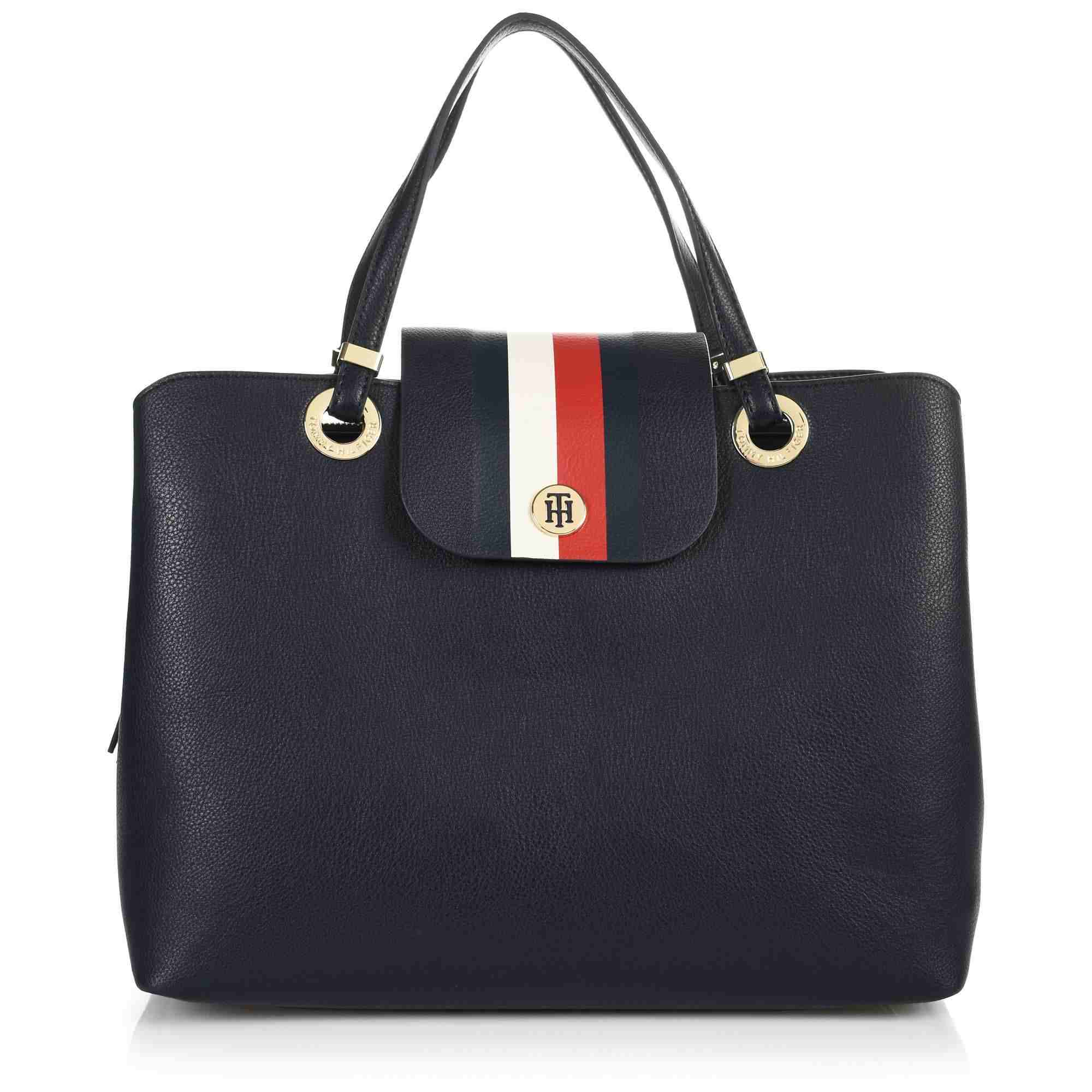 Tote Τσάντα Tommy Hilfiger My Tommy Satchel AW0AW06620