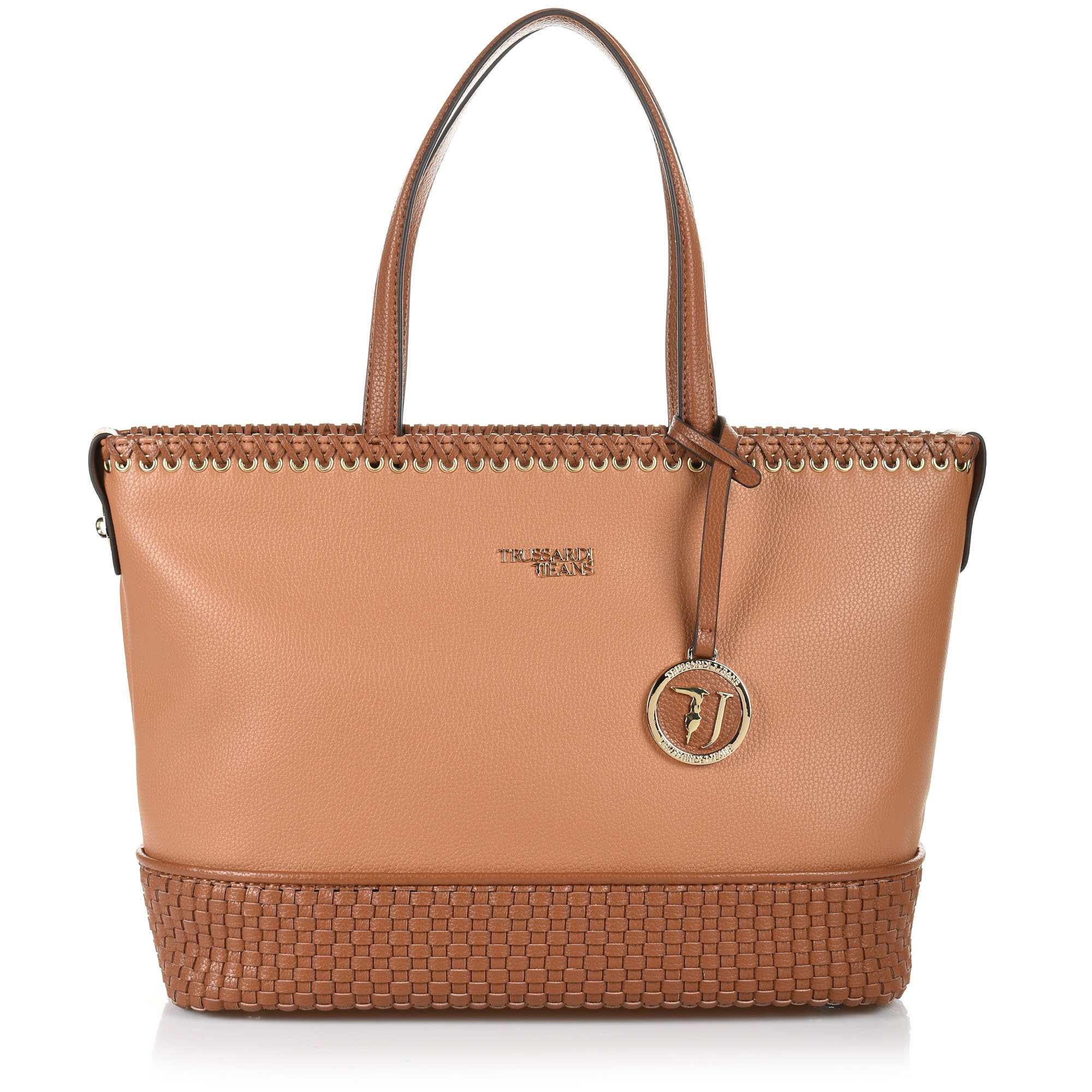 Τote Τσάντα Trussardi Jeans Mimosa 75B00749 γυναικα   γυναικεία τσάντα