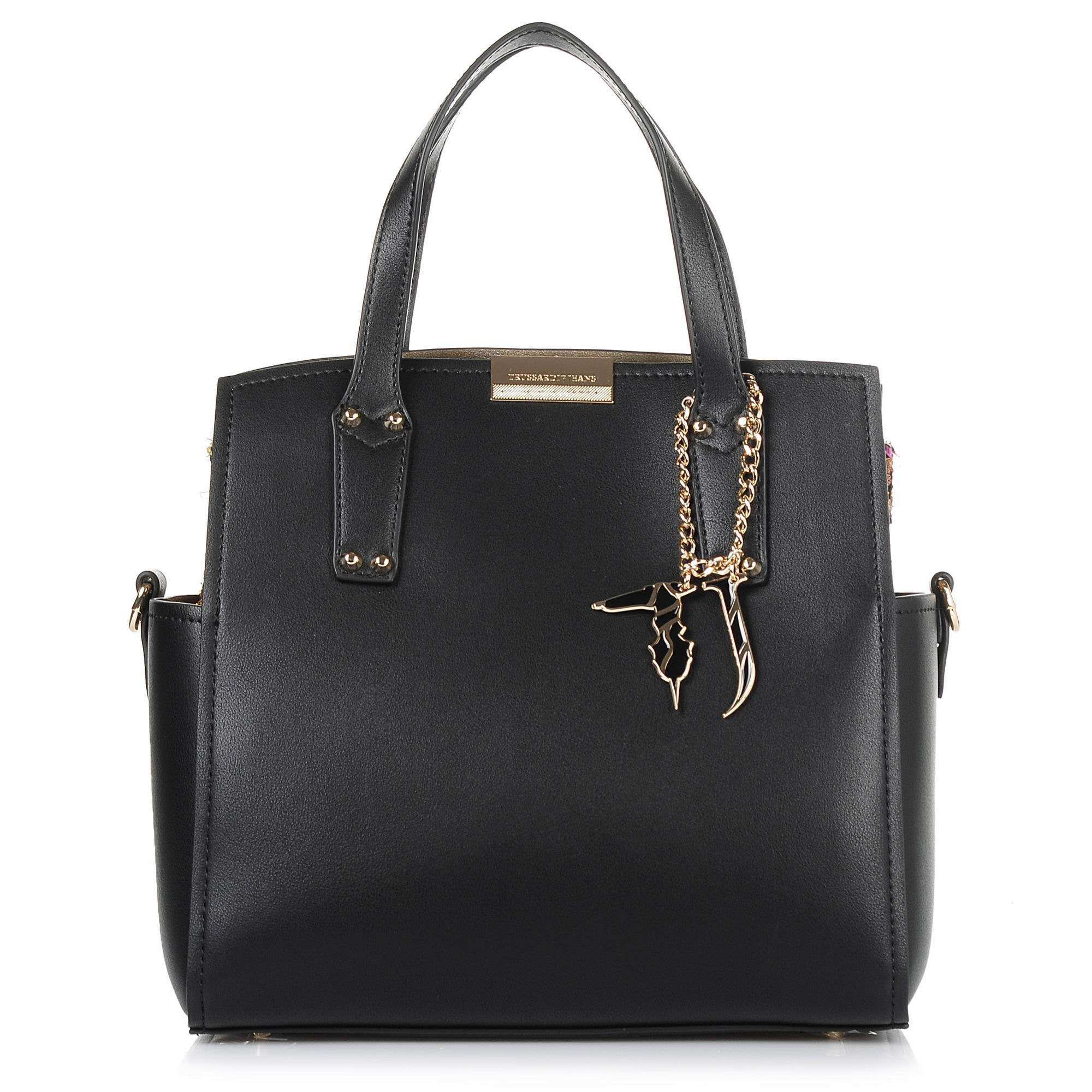 Tote Τσάντα Trussardi Jeans Rosemary Smooth Ecoleather/Stuoia Handle Bag 75B00361