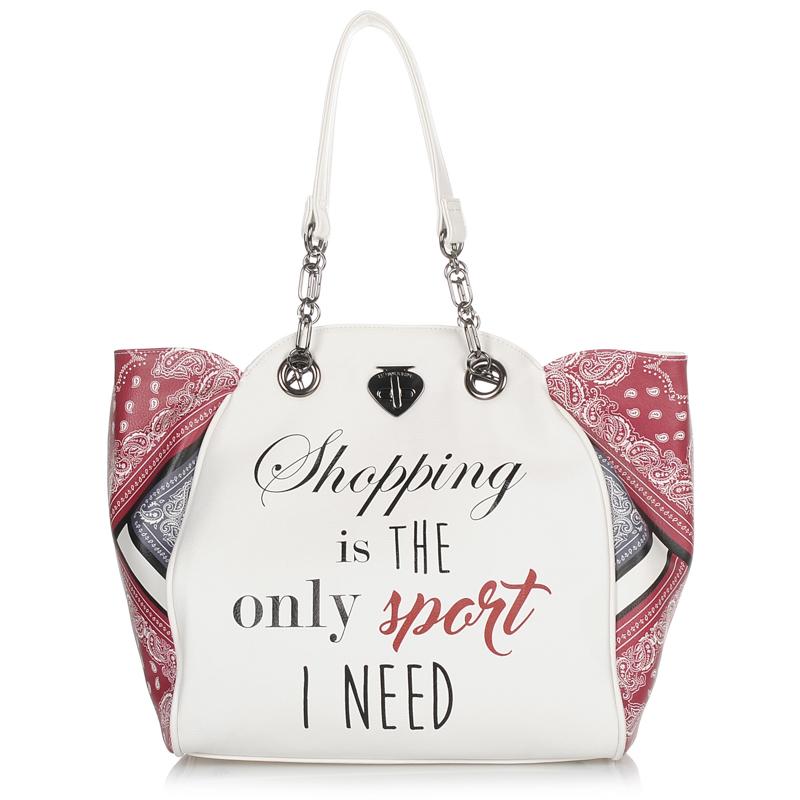 Τσάντα Ώμου Le Pandorine Classic Mini Printed - Shopping γυναικα   γυναικεία τσάντα