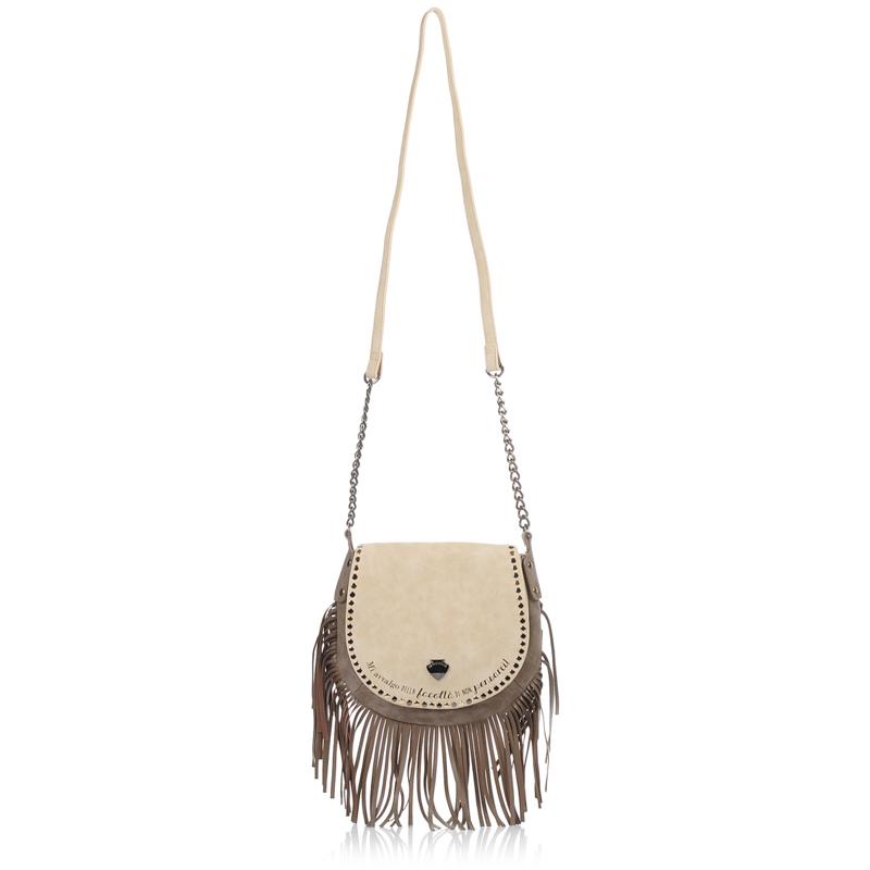 Τσαντάκι Ώμου - Χιαστί Le Pandorine Studs Mini Facolta γυναικα   γυναικεία τσάντα