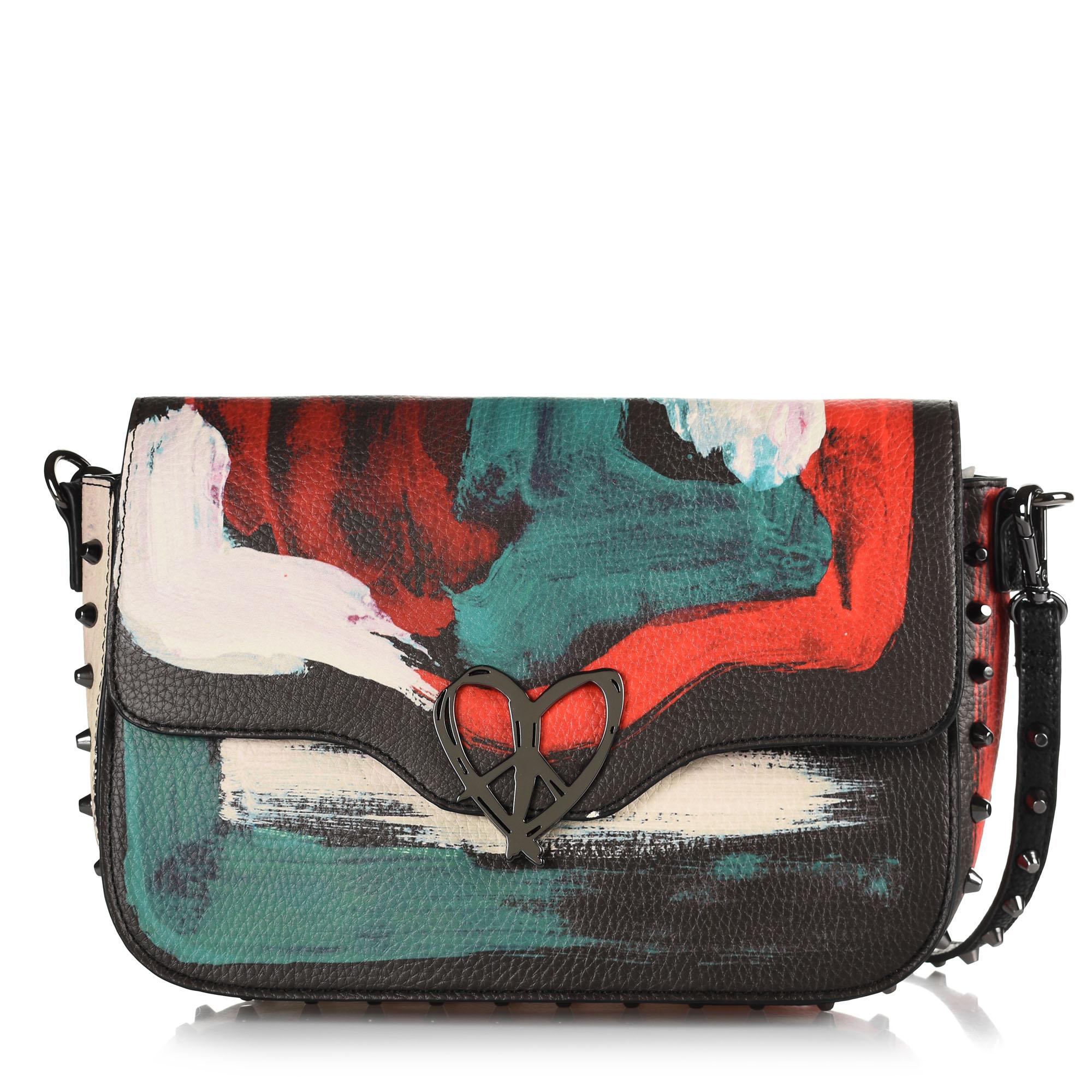 Τσάντα Ώμου – Χιαστί Desigual Bols_Love Kaos Amorgos 19WAXP43