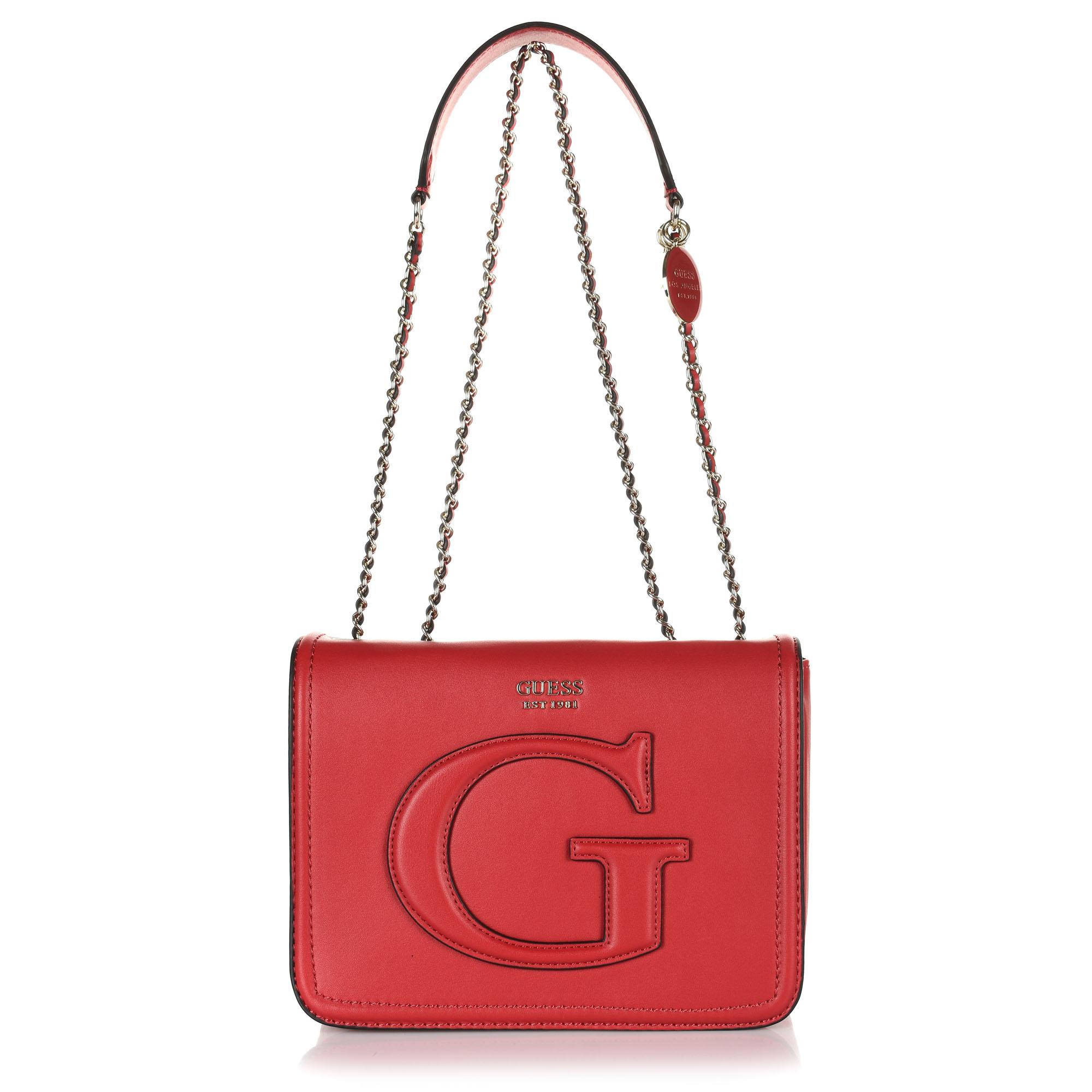 Τσάντα Ώμου-Χιαστί Guess Chrissy VG744021