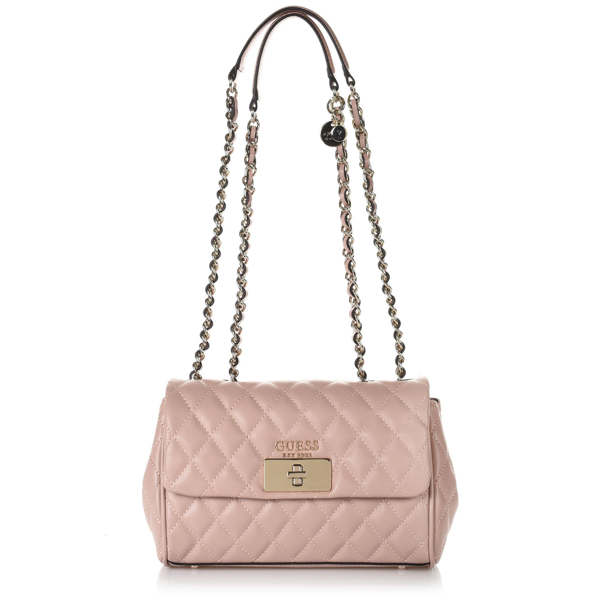 Τσάντα Ώμου-Χιαστί Guess Sweet Candy VG717518 γυναικα   γυναικεία τσάντα