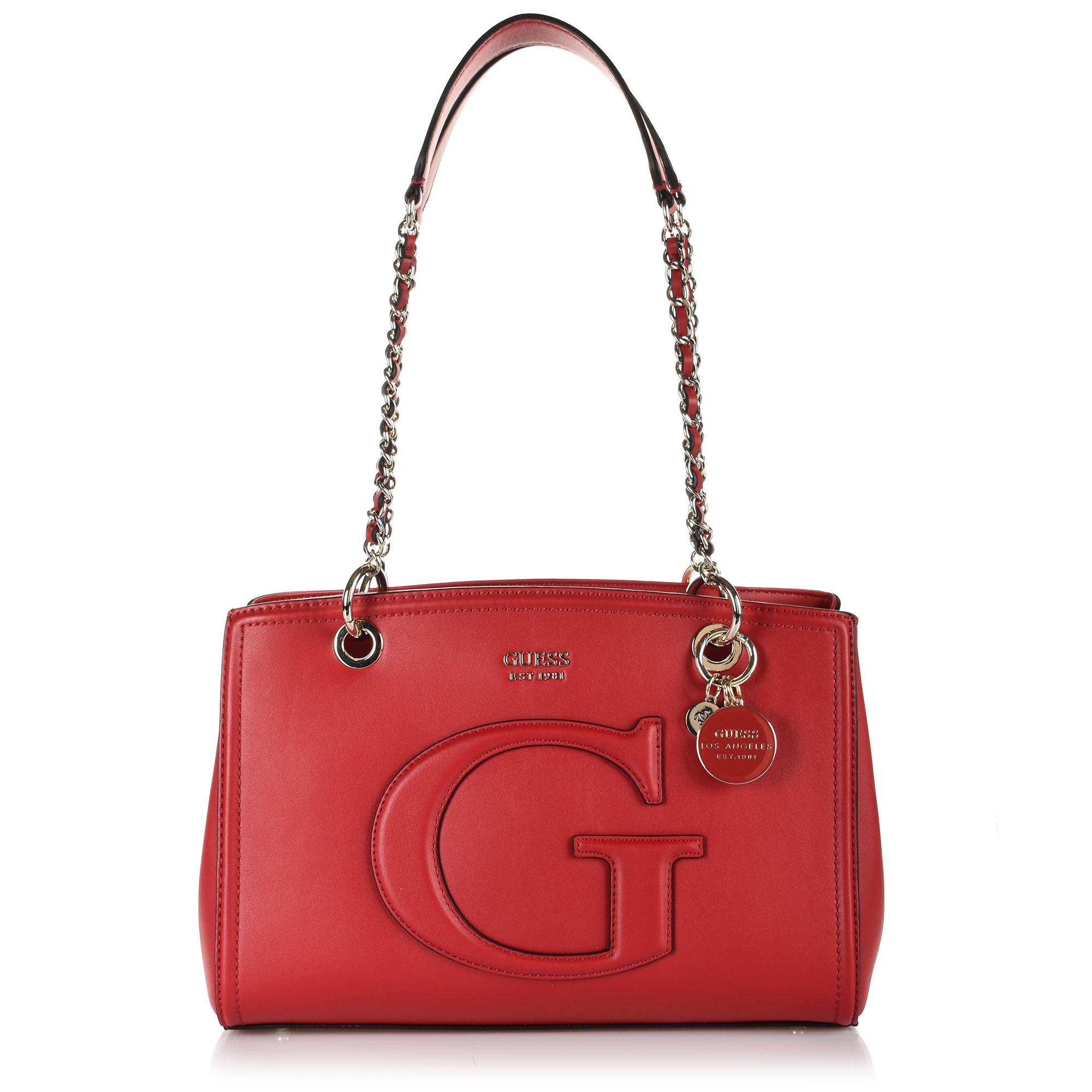 Τσάντα Ώμου Guess Chrissy PG744009