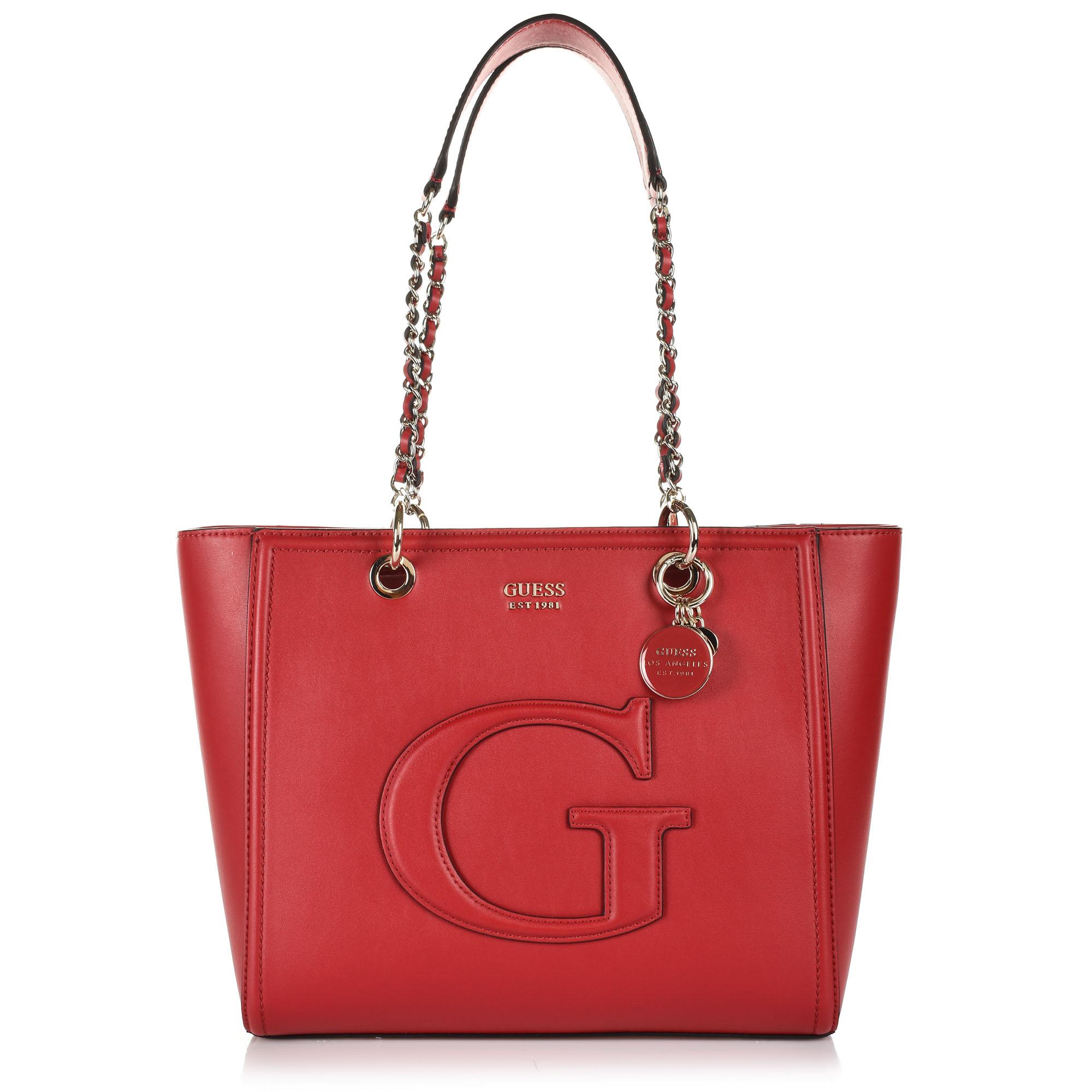 Τσάντα Ώμου Guess Chrissy PG744023