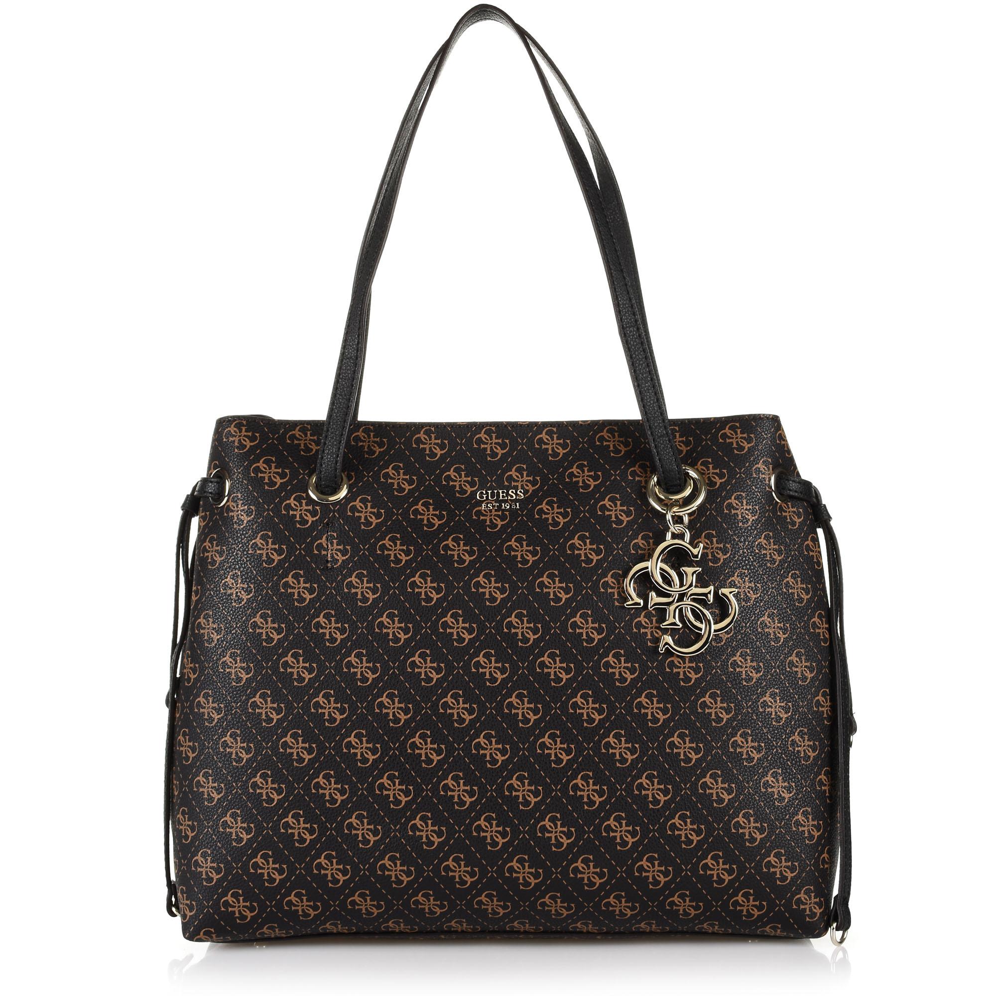 Τσάντα Ώμου Guess Digital SQ5324