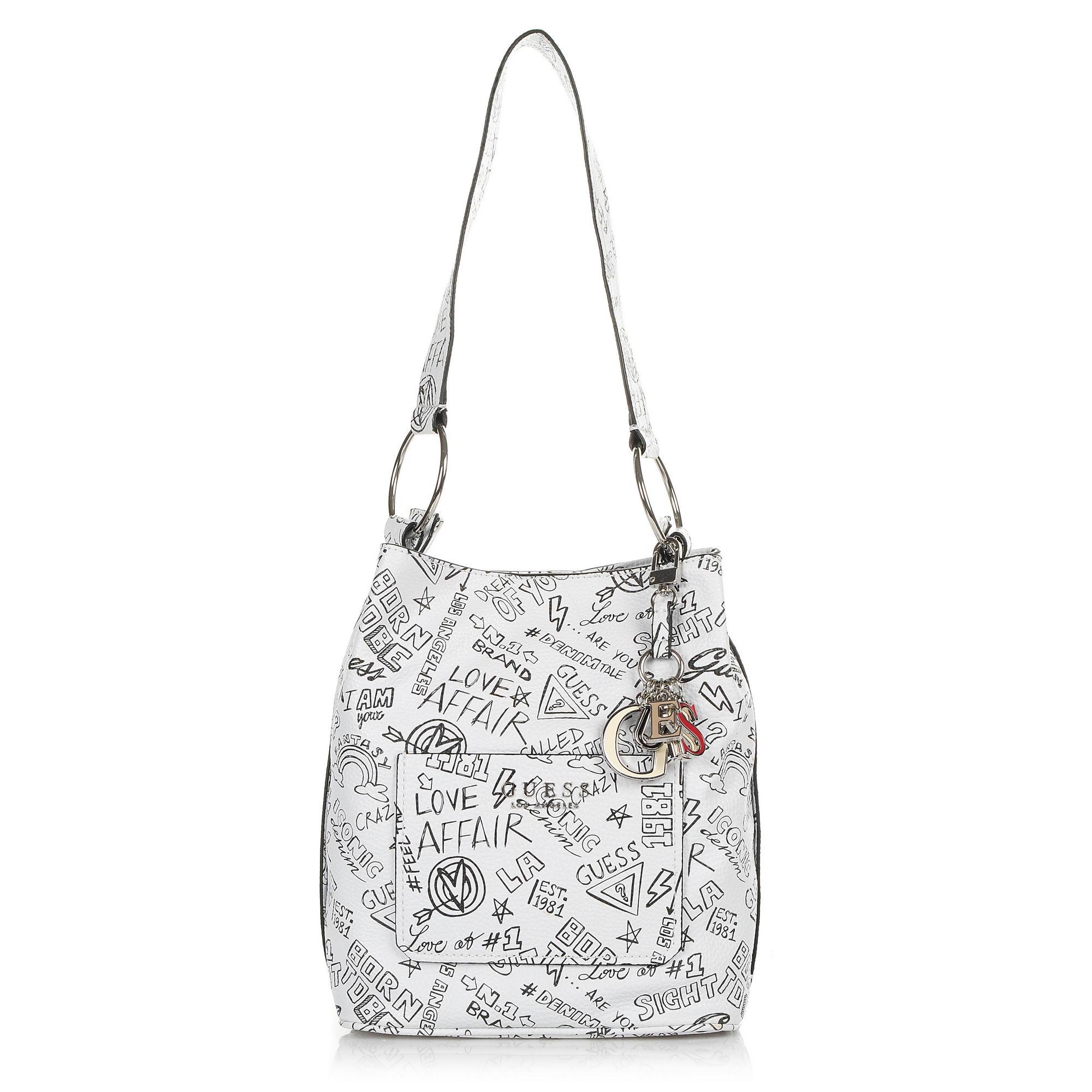 Τσάντα Ώμου Guess Sally GF670030