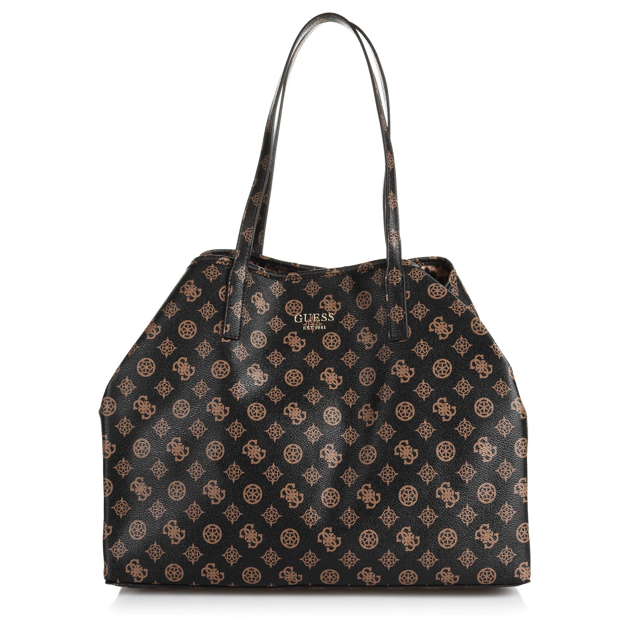 Τσάντα Ώμου Guess Vikky PQ699524