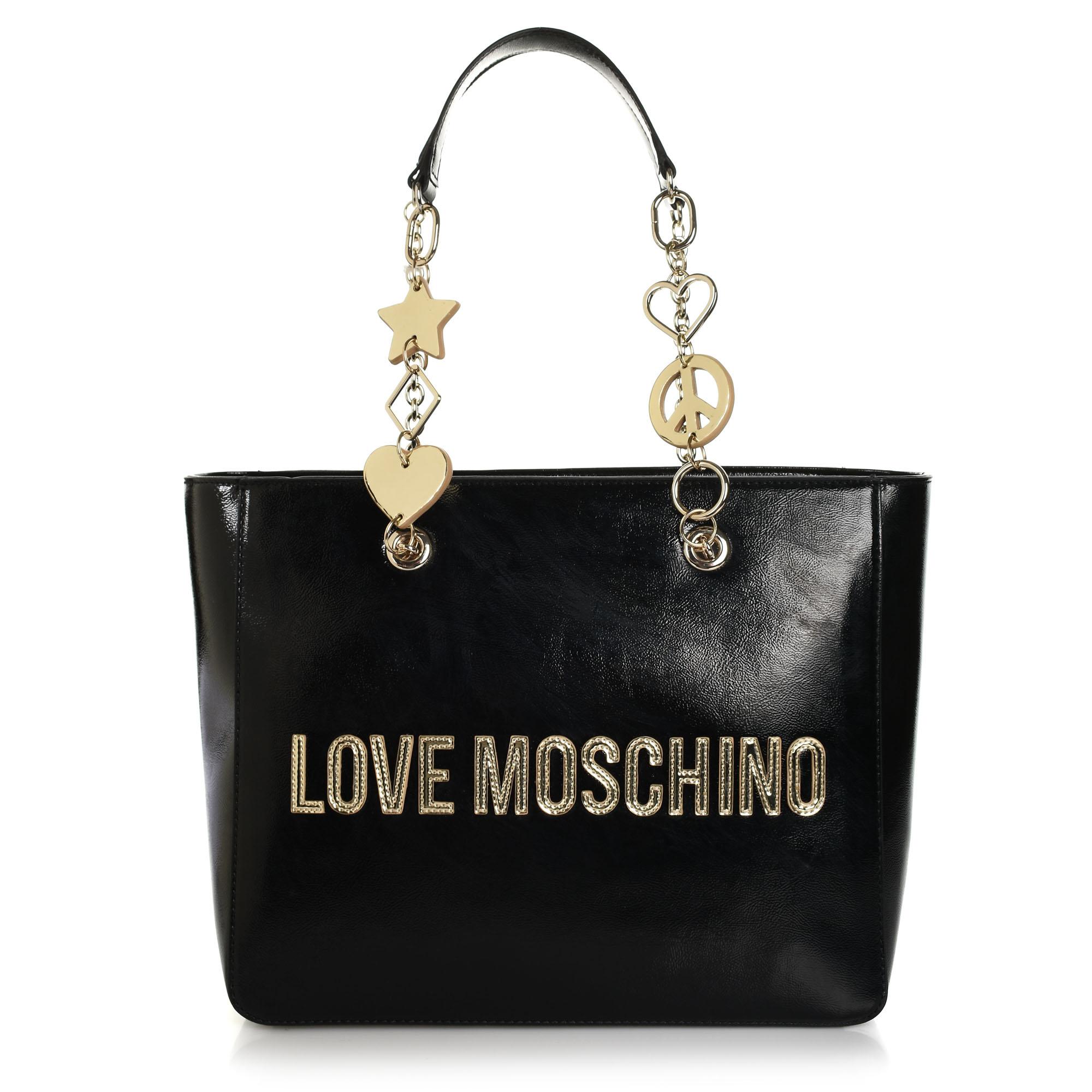 Τσάντα Ώμου Love Moschino Borsa Metallic Pu JC4037PP18LD