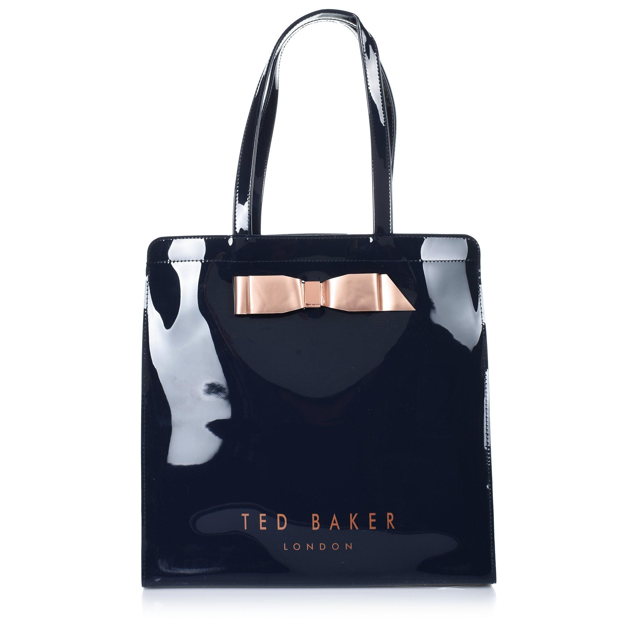 Τσάντα Ώμου Ted Baker Bow Detail Large Icon Bag XH9W 151041