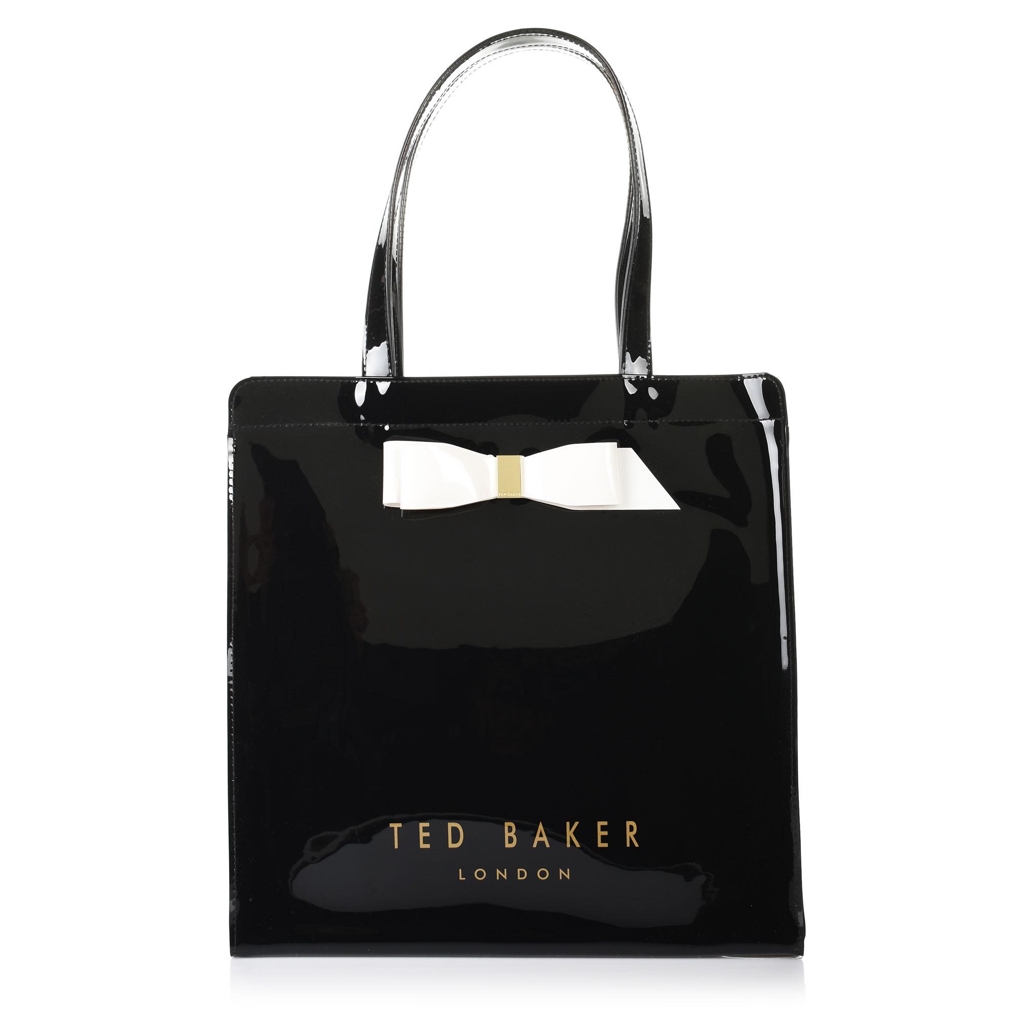 Τσάντα Ώμου Ted Baker Bow Detail Large Icon Bag XH9W 151153