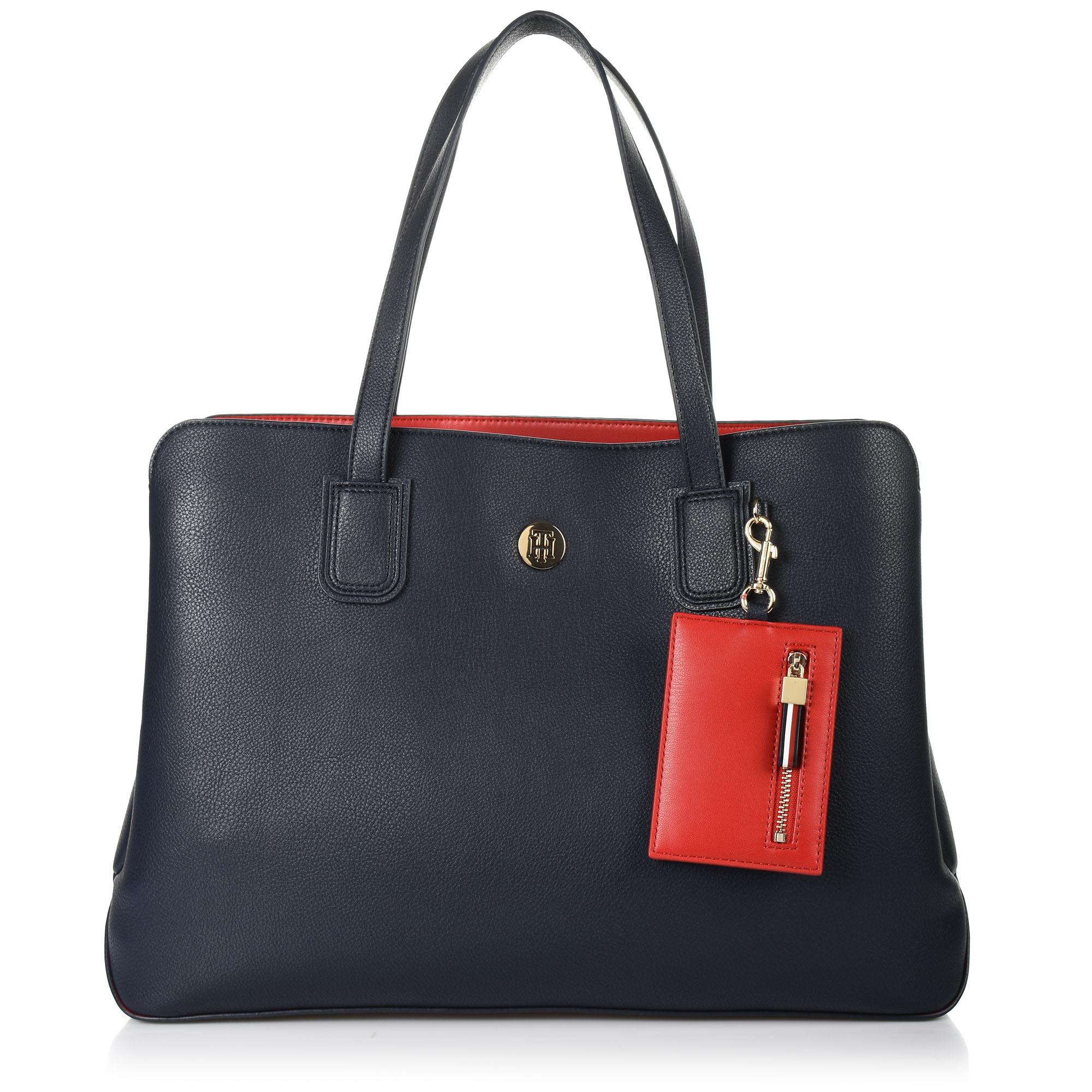 Τσάντα Ώμου Tommy Hilfiger Charming Tommy Work Bag AW0AW07312