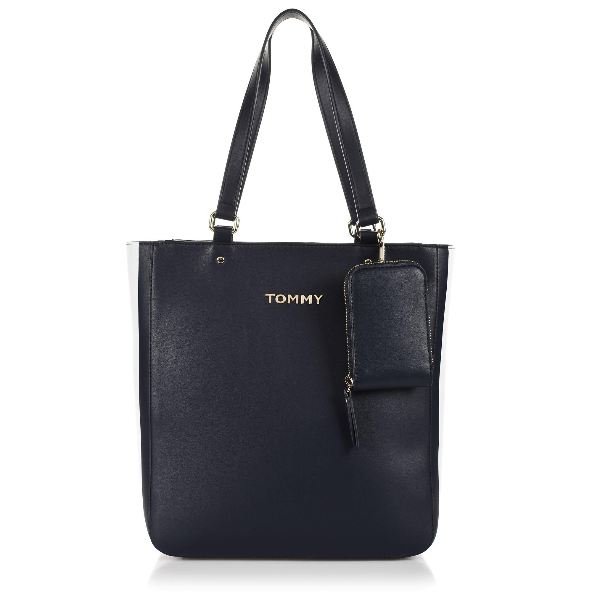 Τσάντα Ώμου Tommy Hilfiger Corporate Tote AW0AW07692