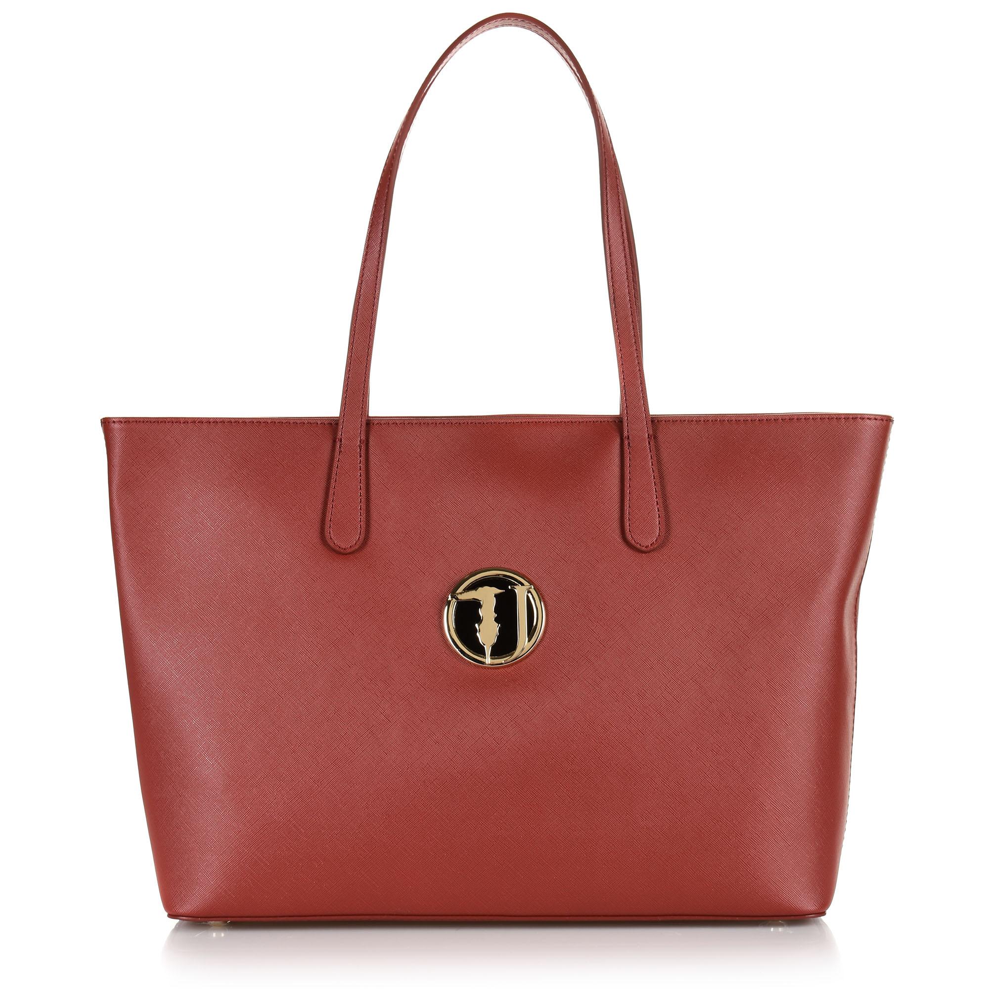 Τσάντα Ώμου Trussardi Jeans Shophie Shopper E/W Lg 75B00838