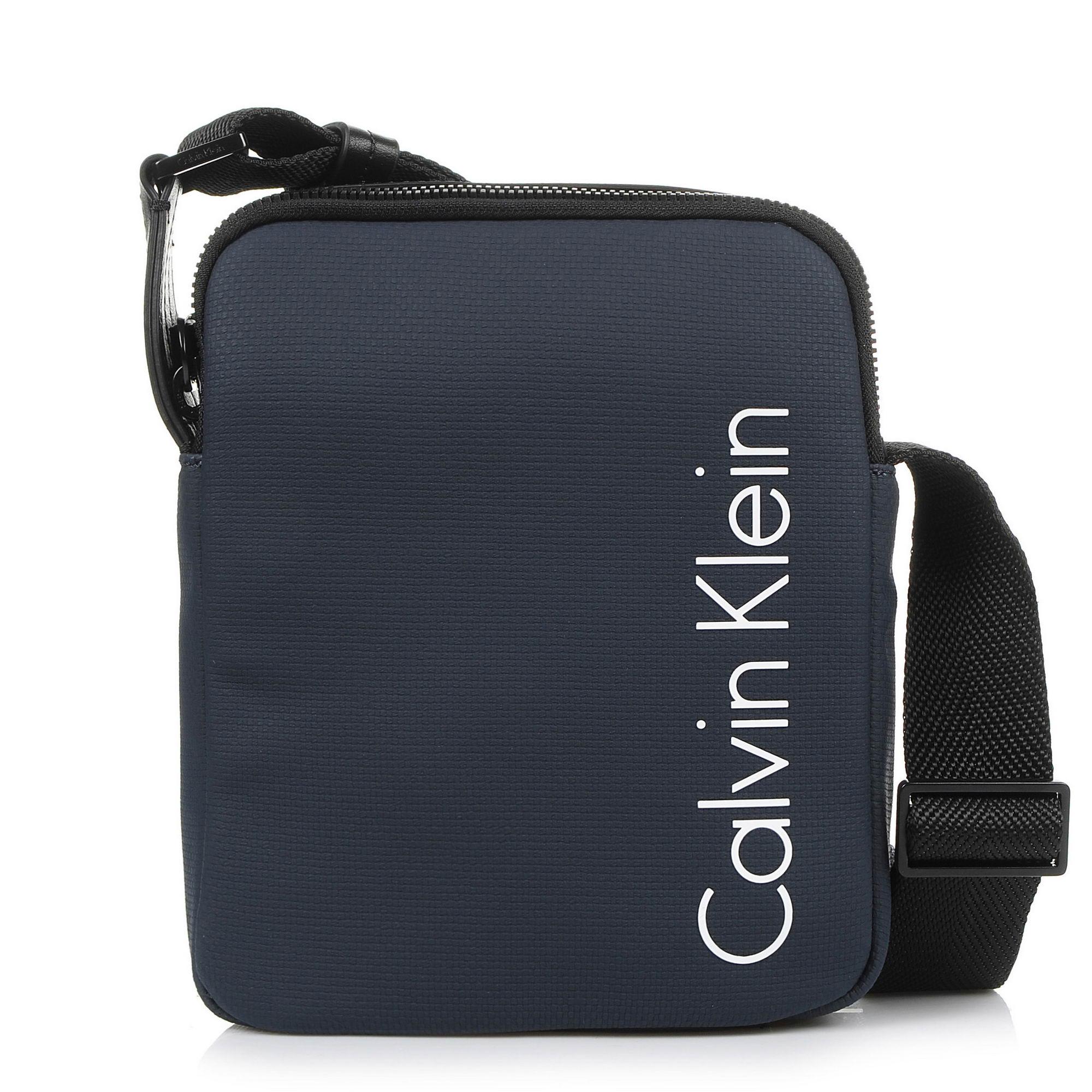Τσαντάκι Χιαστί Calvin Klein Quad Stitch Mini Rep K50K503517 ανδρας   τσαντάκι χιαστί