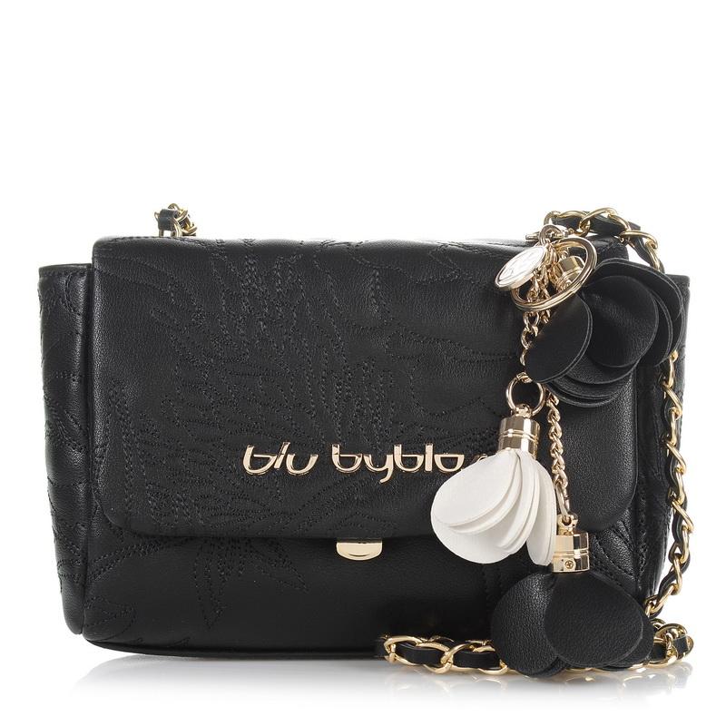 Τσαντάκι Ώμου - Χιαστί Blu Byblos Tracolla Adele 670005 γυναικα   γυναικεία τσάντα