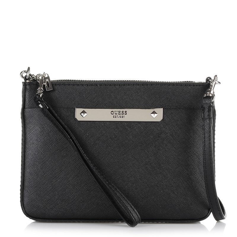 Τσαντάκι Ώμου - Χιαστί Guess Britta Mini 669372 γυναικα   γυναικεία τσάντα